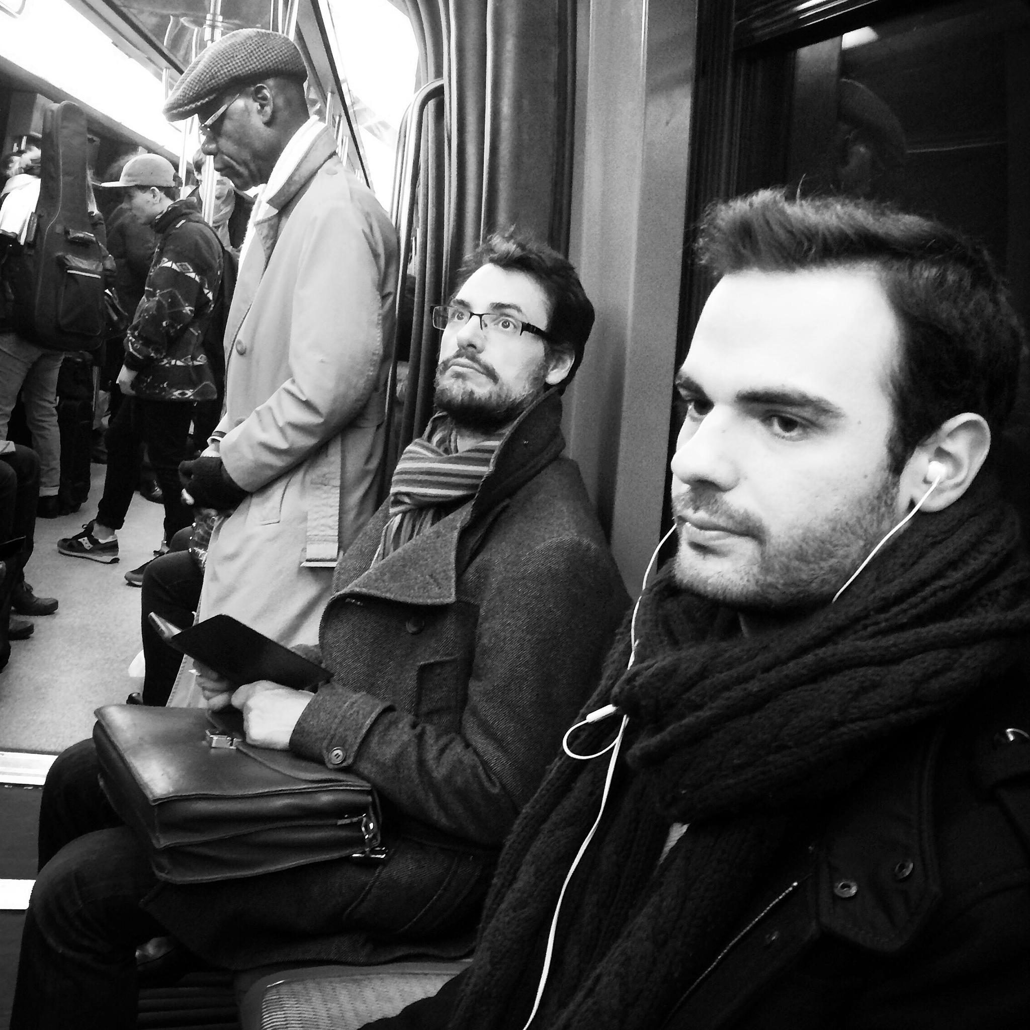 Metro portraits by parisfind