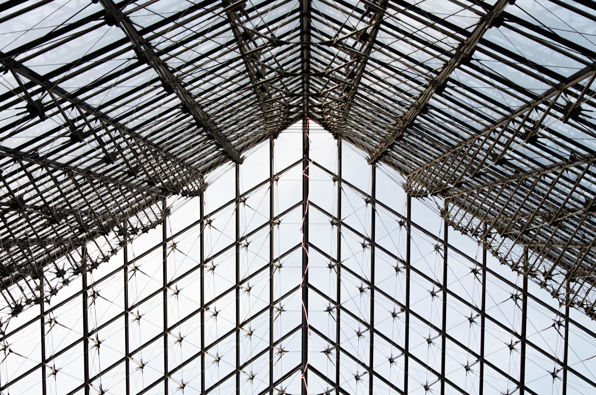 Abstract Louvre by Manuel Atréide