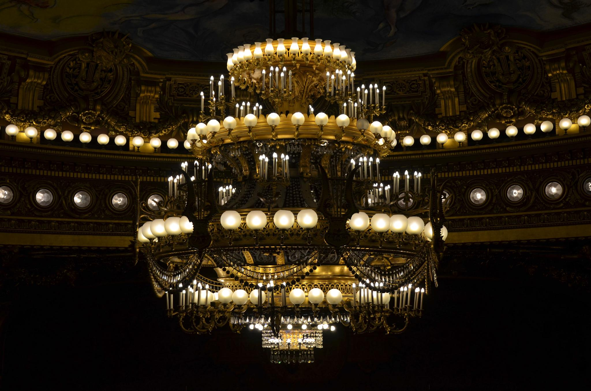 Opera Garnier - Let There Be Light by Manuel Atréide