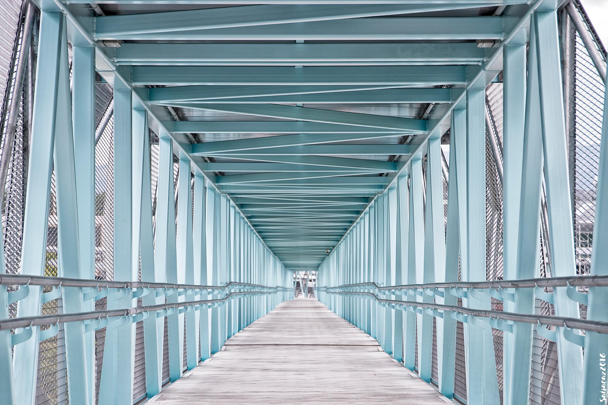 Photo in Cityscape #pasarela #bridge #vigo #galicia