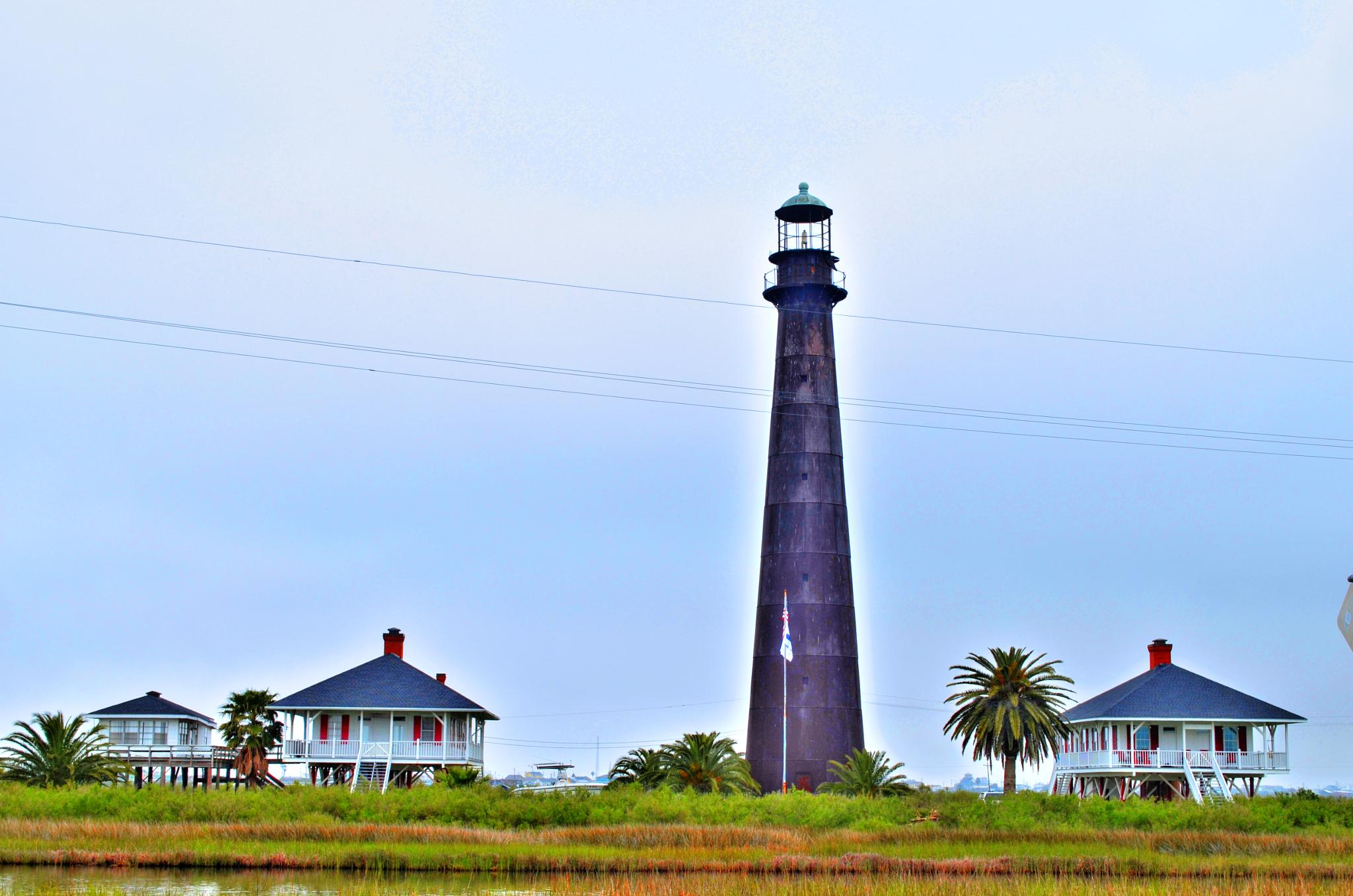 Lighthouse at Bolivar by kersten.conway