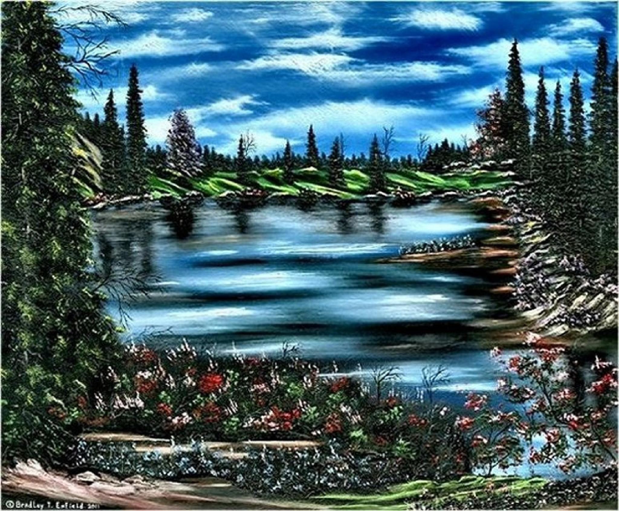 Welcome To Paradise > by enfieldfinearts