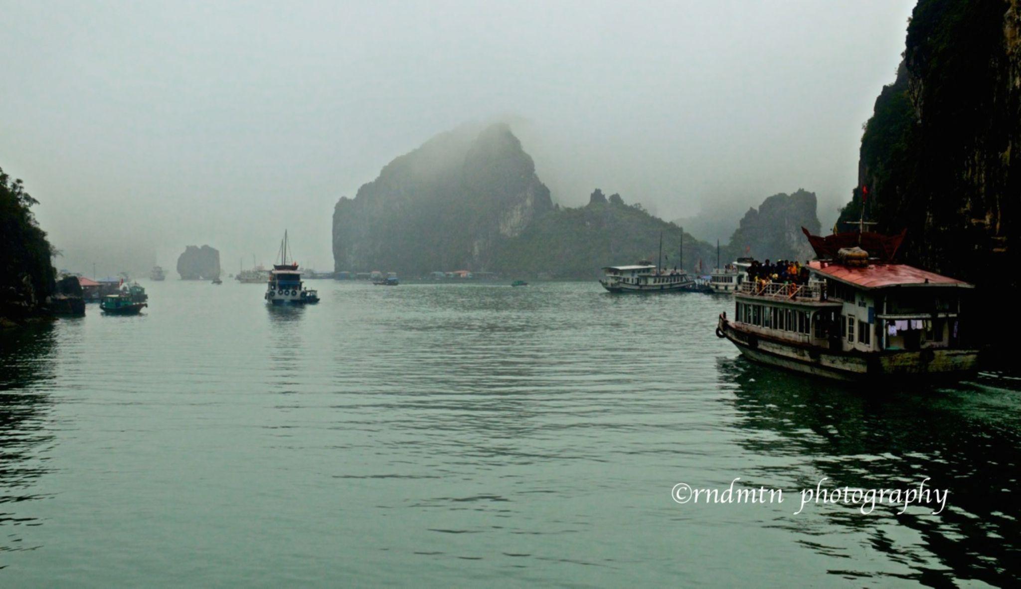 Ha Long Bay, Vietman by rndmtn