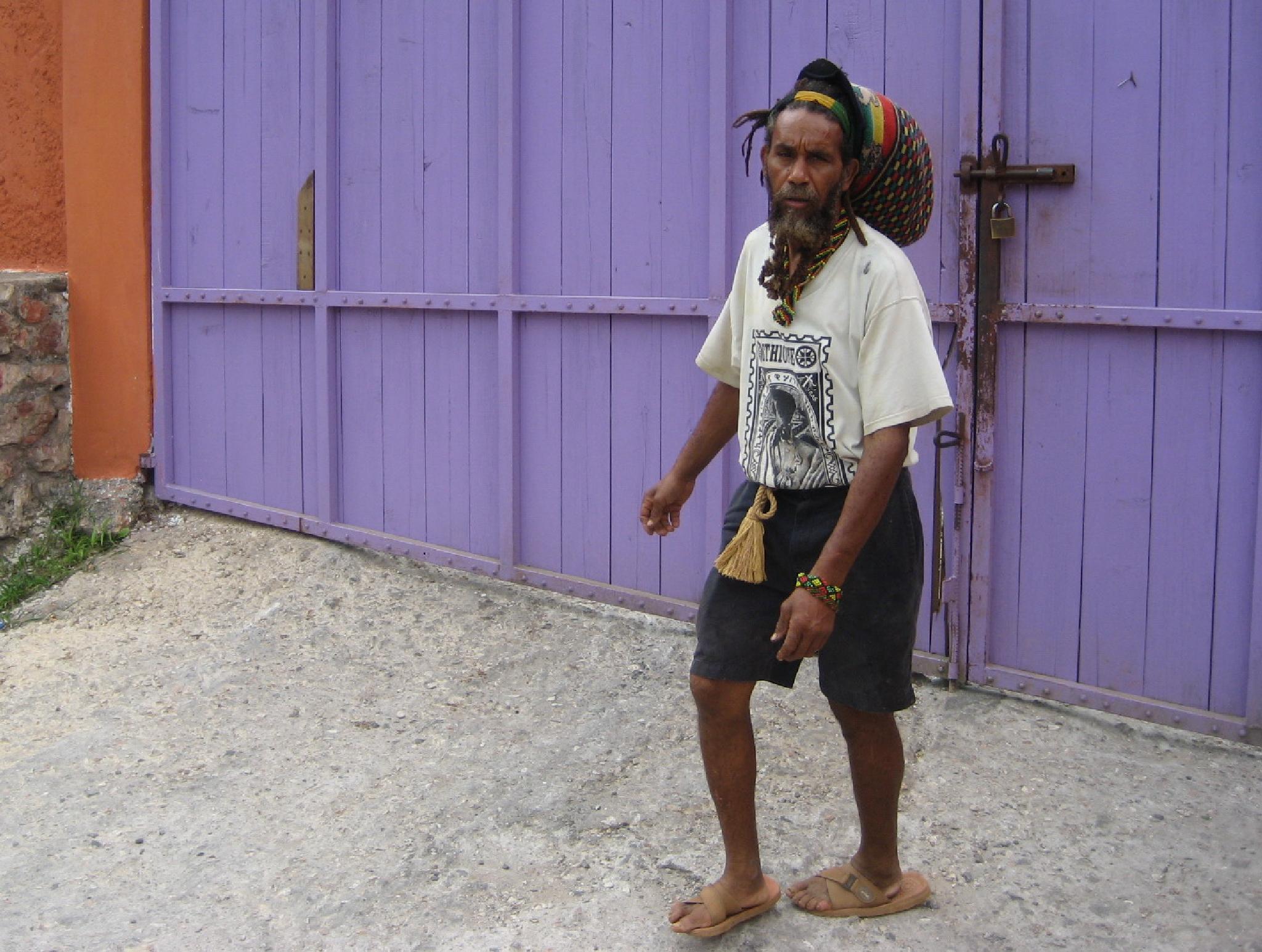 Tot recordant Bob Marley. Jamaica by bescosx