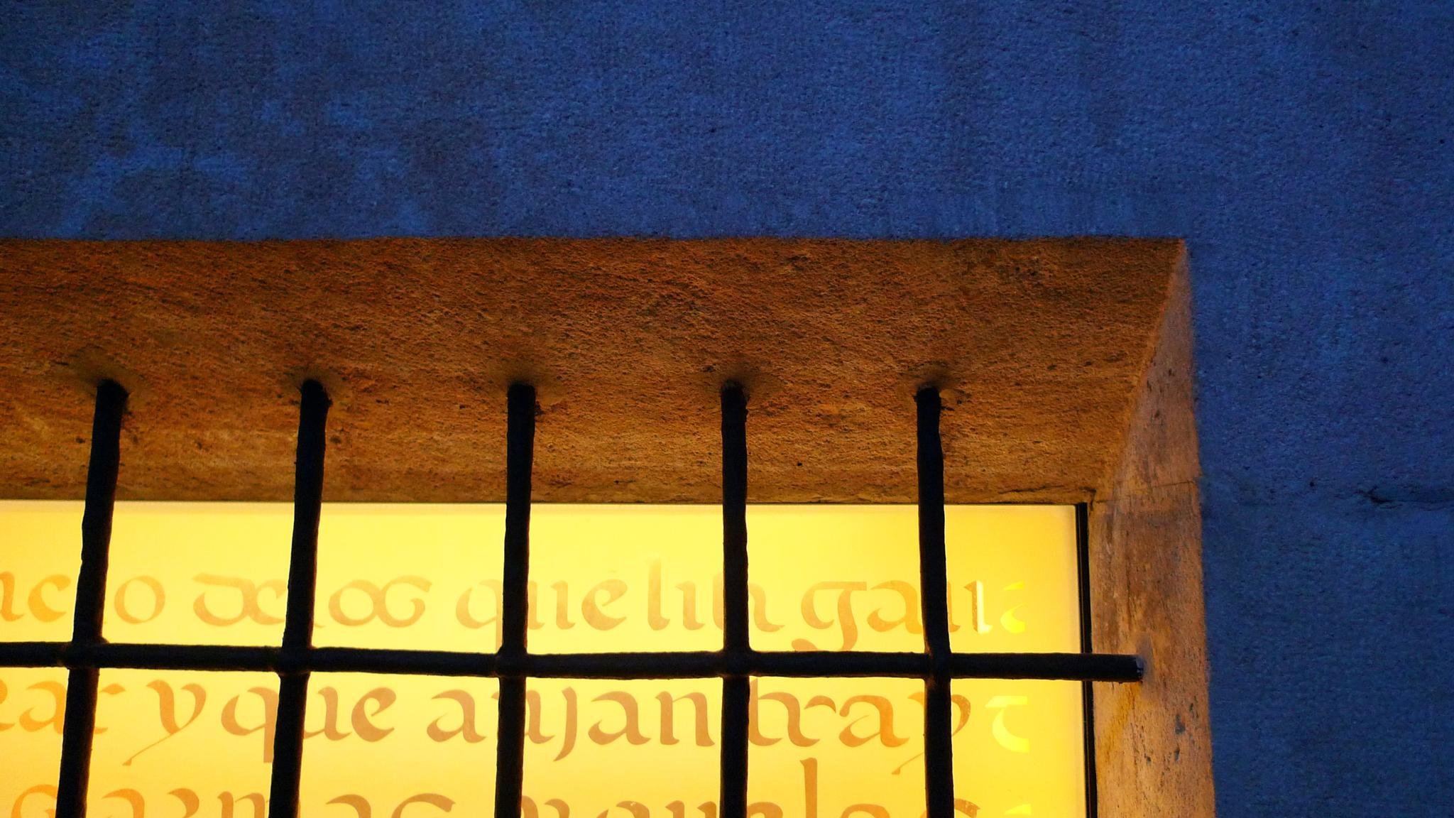 Arxiu de la Corona d'Aragó. Detall d'una finestra (Barcelona) by bescosx