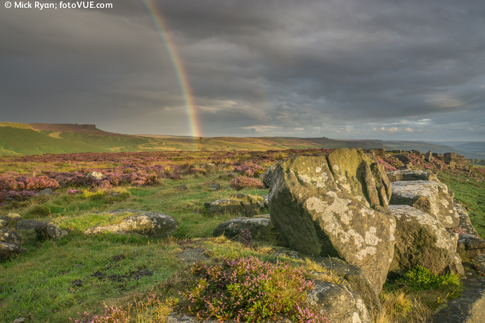 The Knuckle Stone #2 at Carrhead Rocks in the Peak District by mick.ryan.1650