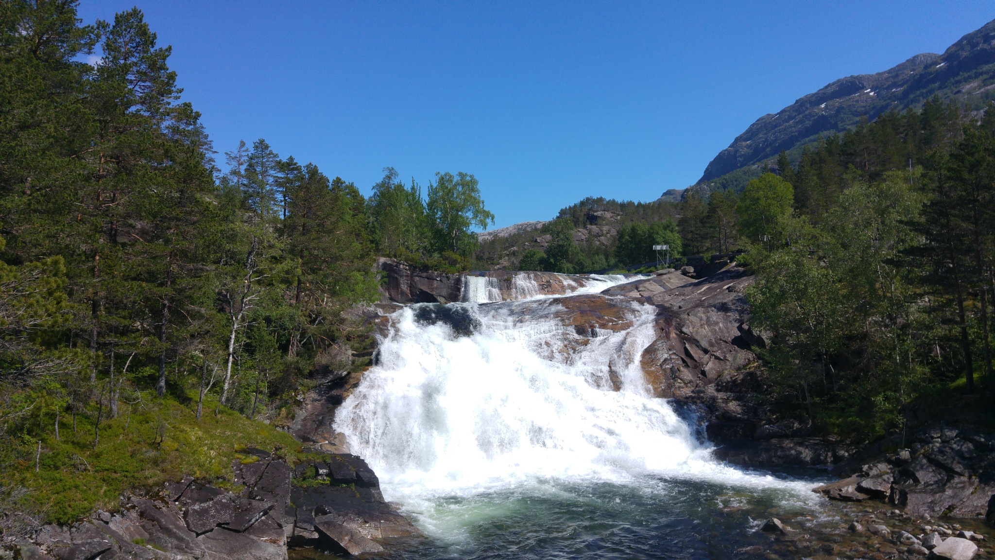 Photo in Landscape #waterfal #norway #mountain #summer