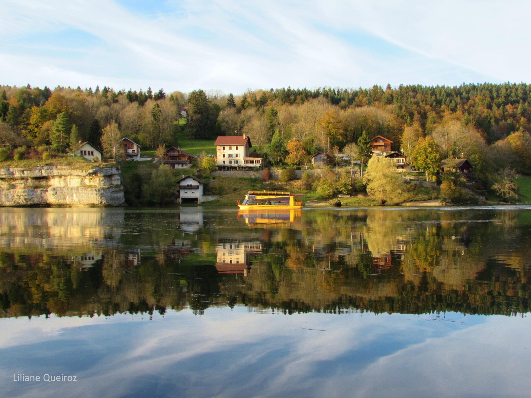Le Bateau du Doubs, Suisse by LQPhotos