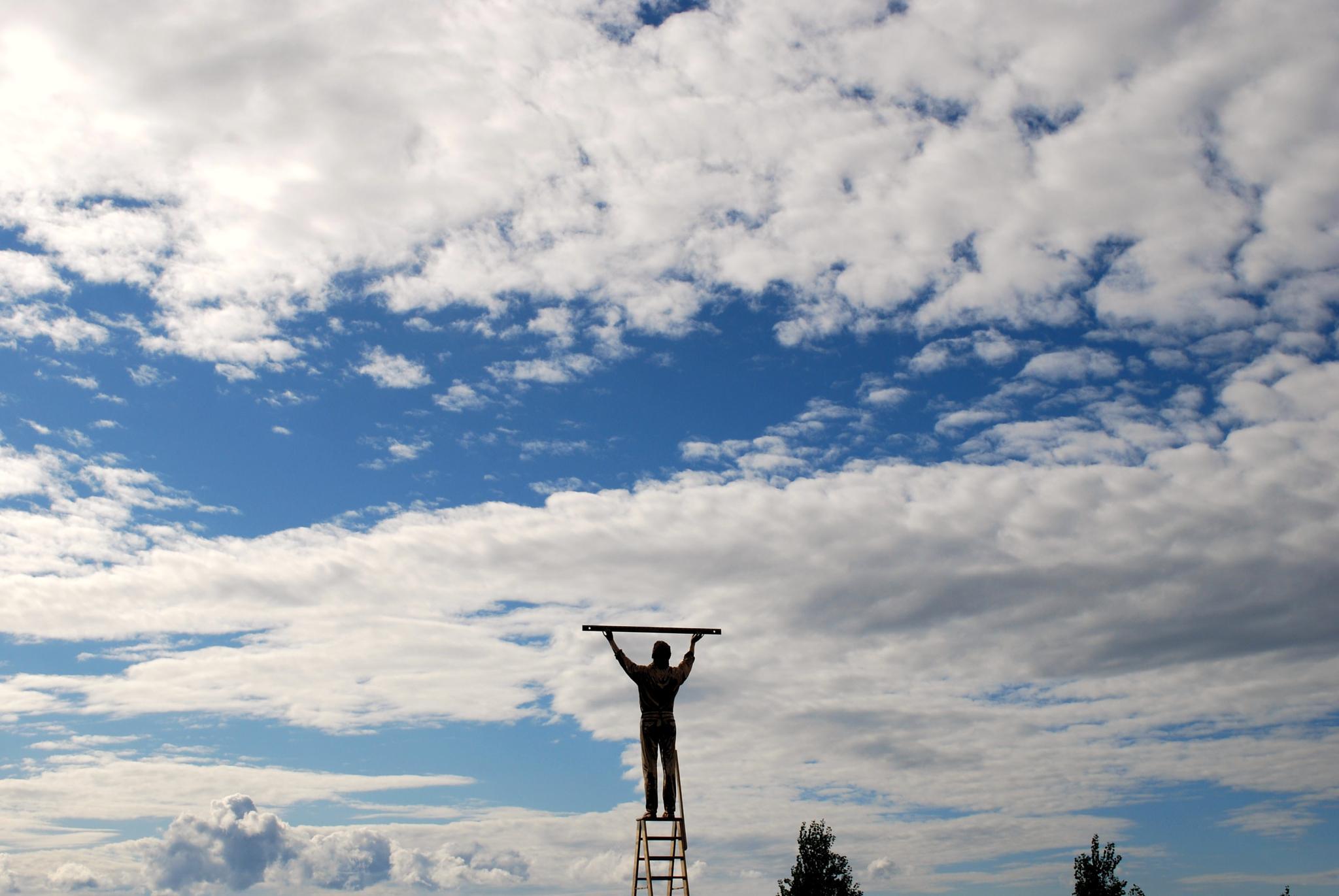 l'uomo che misura le nuvole by fpullano