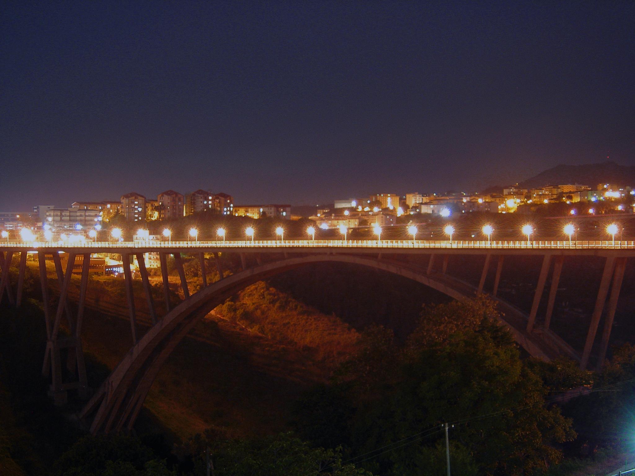 Catanzaro's bridge by fpullano
