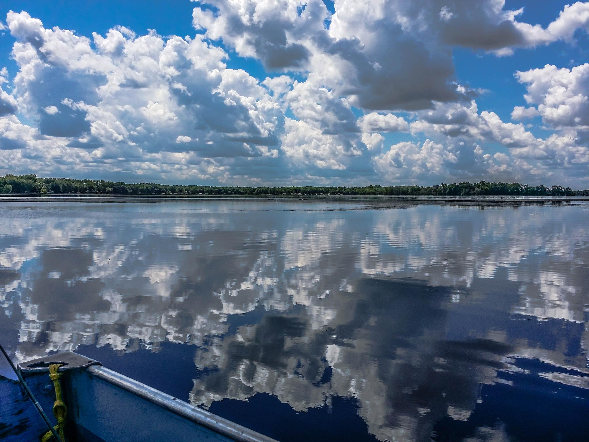 Clouds Over Rush Lake by shirleymariefranklin