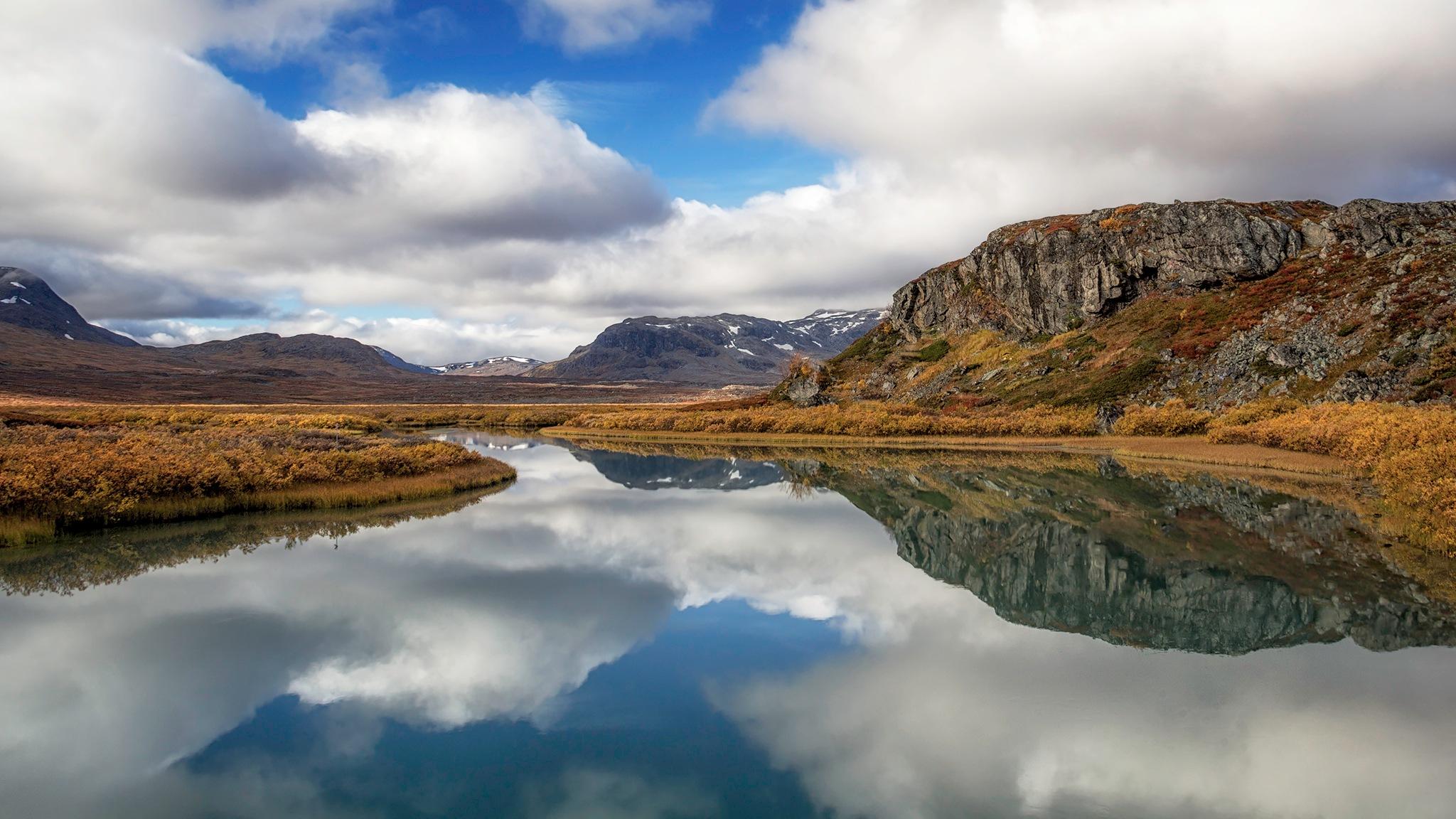 View from the bridge by Henrik Wanders