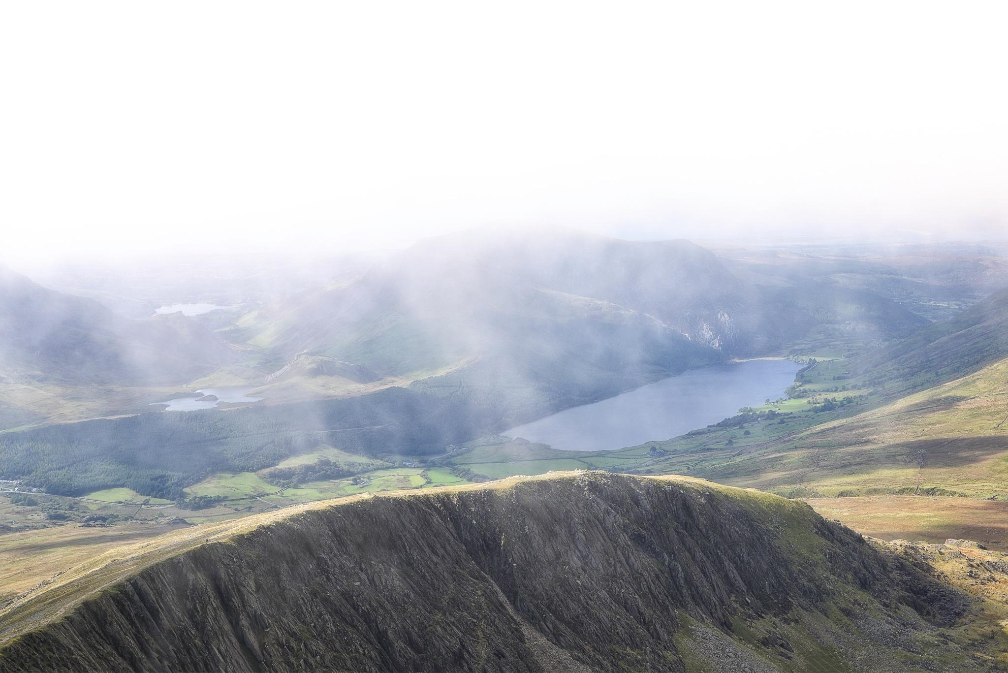 View from Bwlch Cwm Brwynog by Henrik Wanders