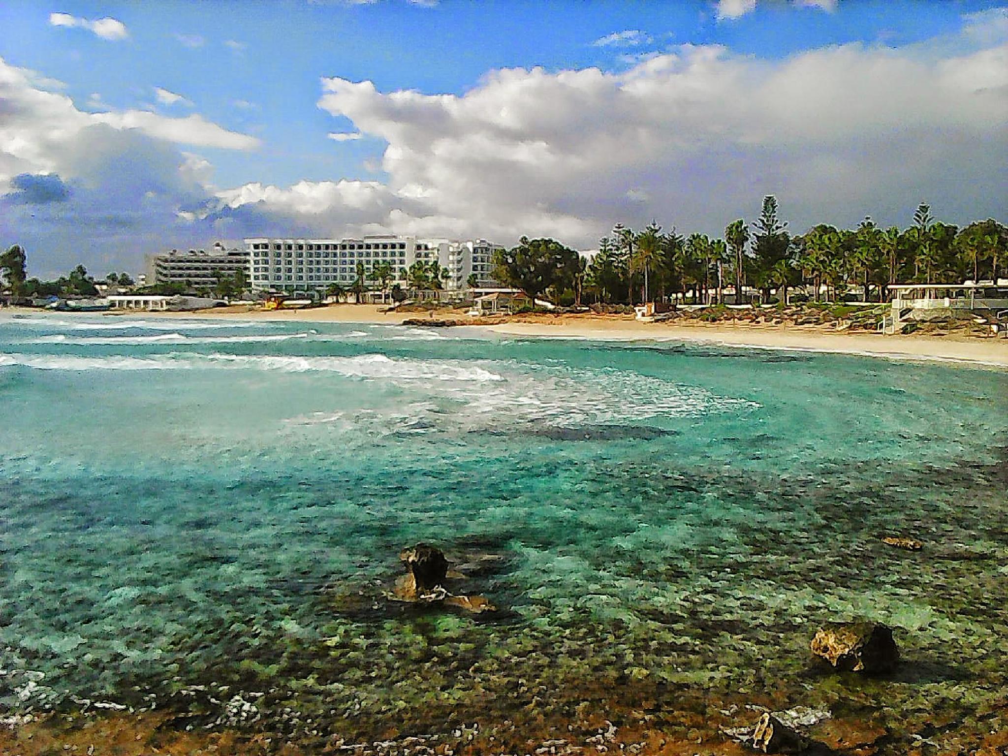 Nissi beach 1 by HelenD