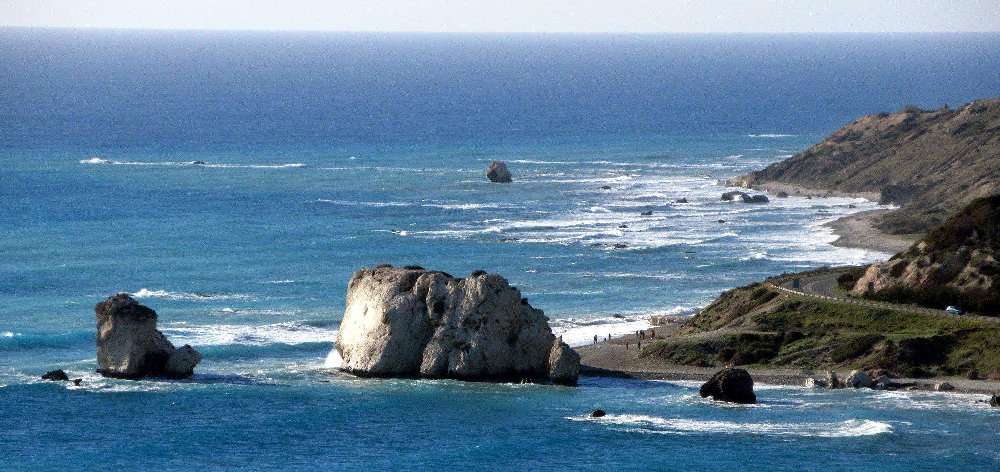 Petra Tou Romiou, Cyprus by HelenD