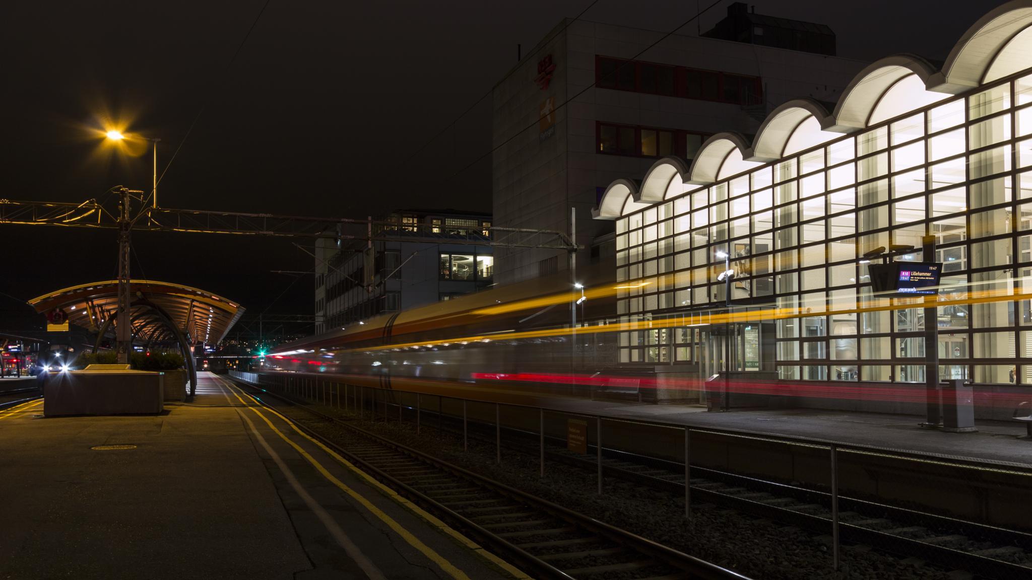 Train to Lillyhammer by Arne Knutsen