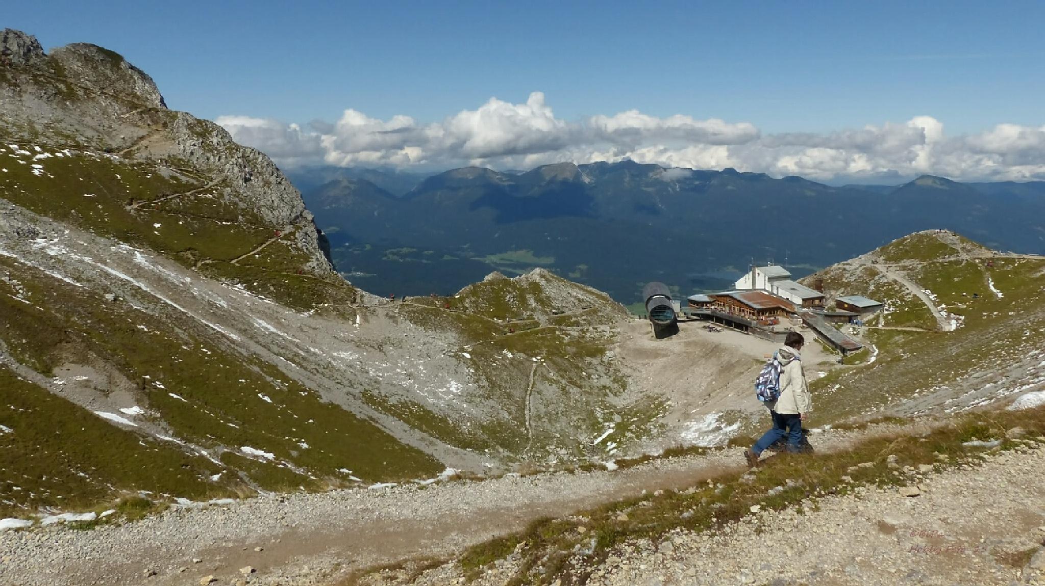 Karwendelspitze 2.385m  by Biri