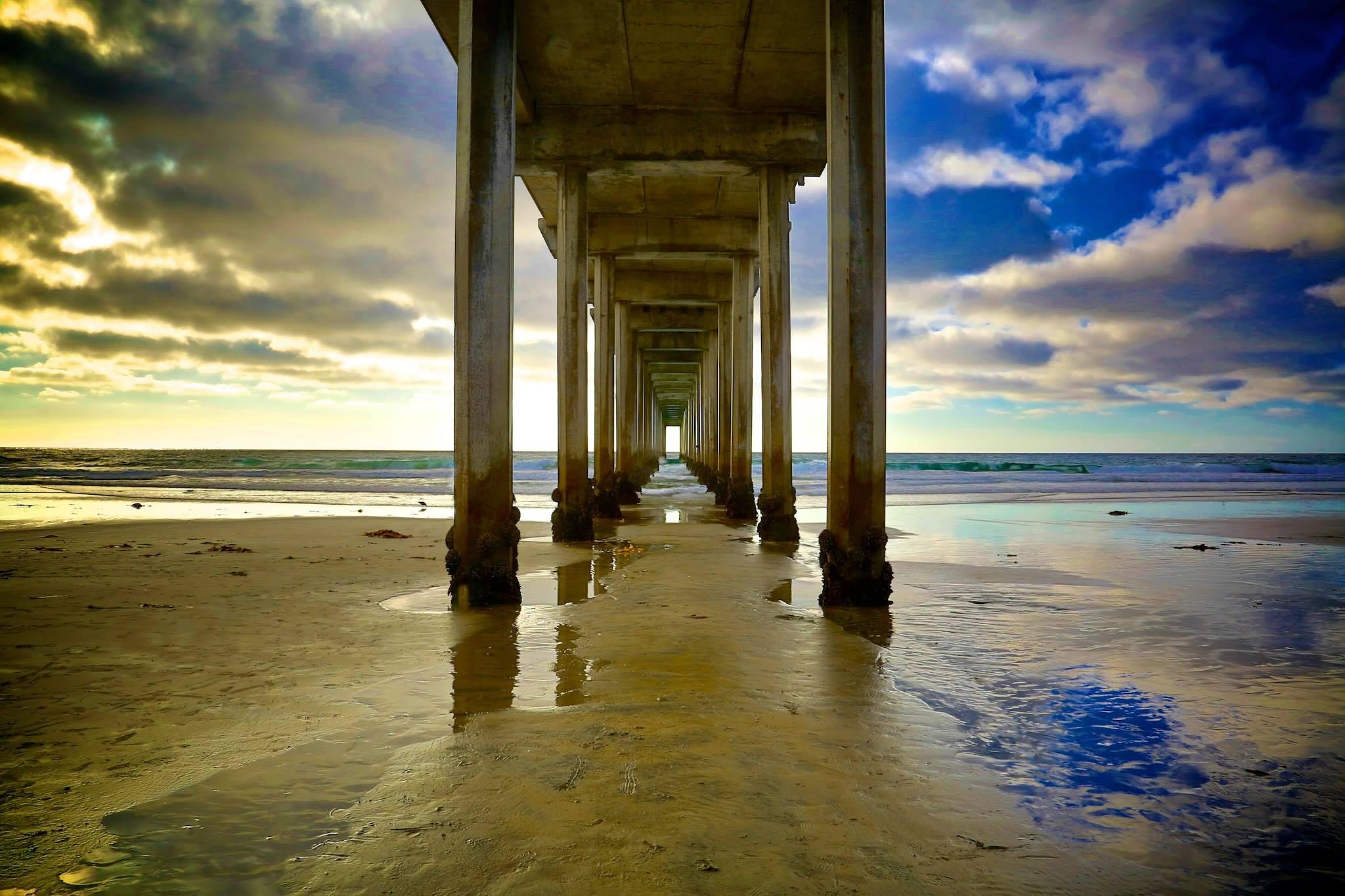 Scripps Pier by foretography
