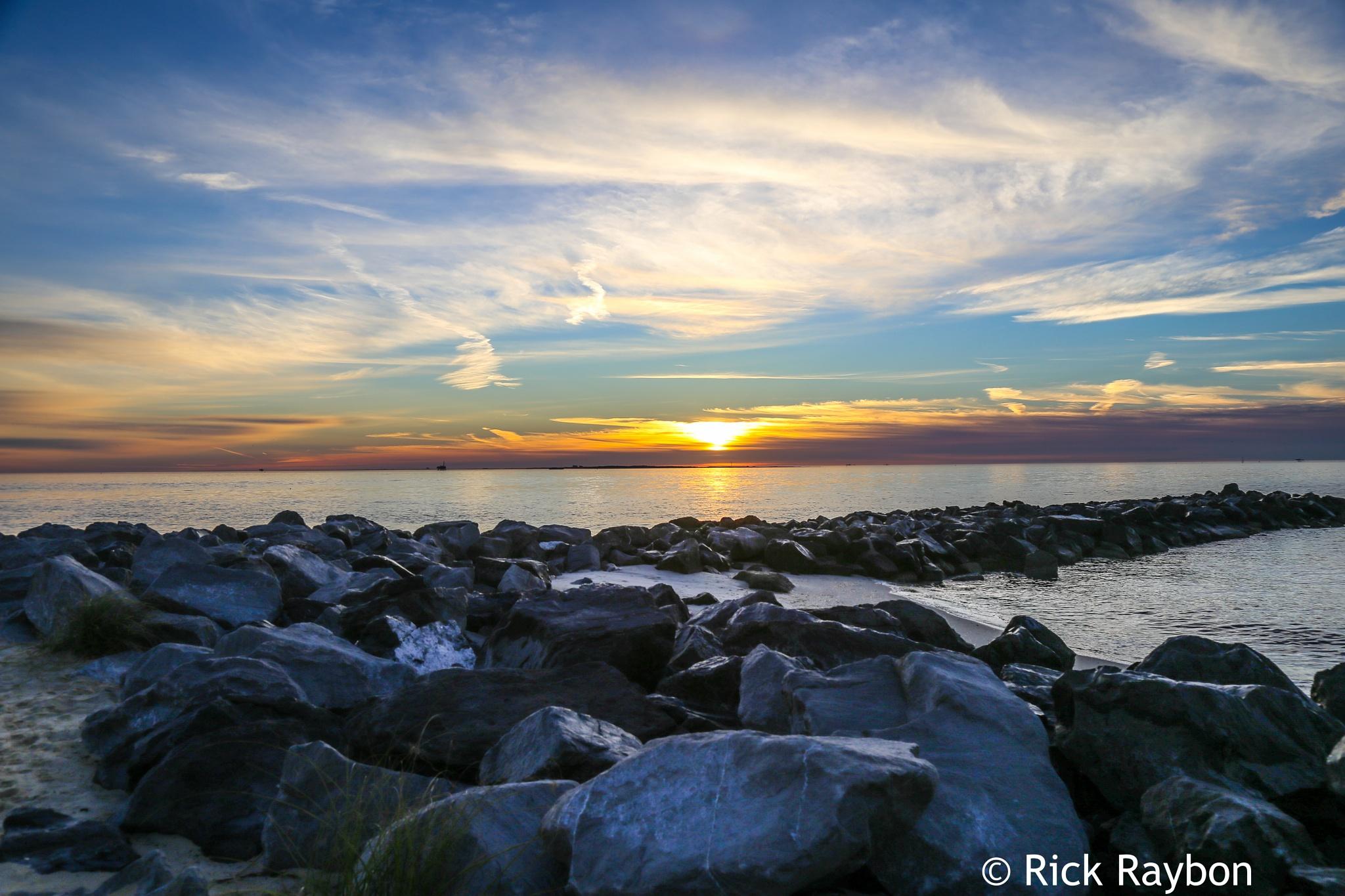 Sunrise on the Gulf Coast by rick.raybon