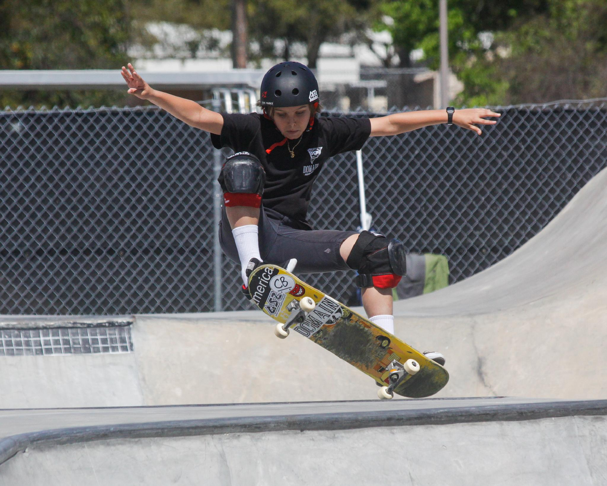 getting some air by Brian Hammersley