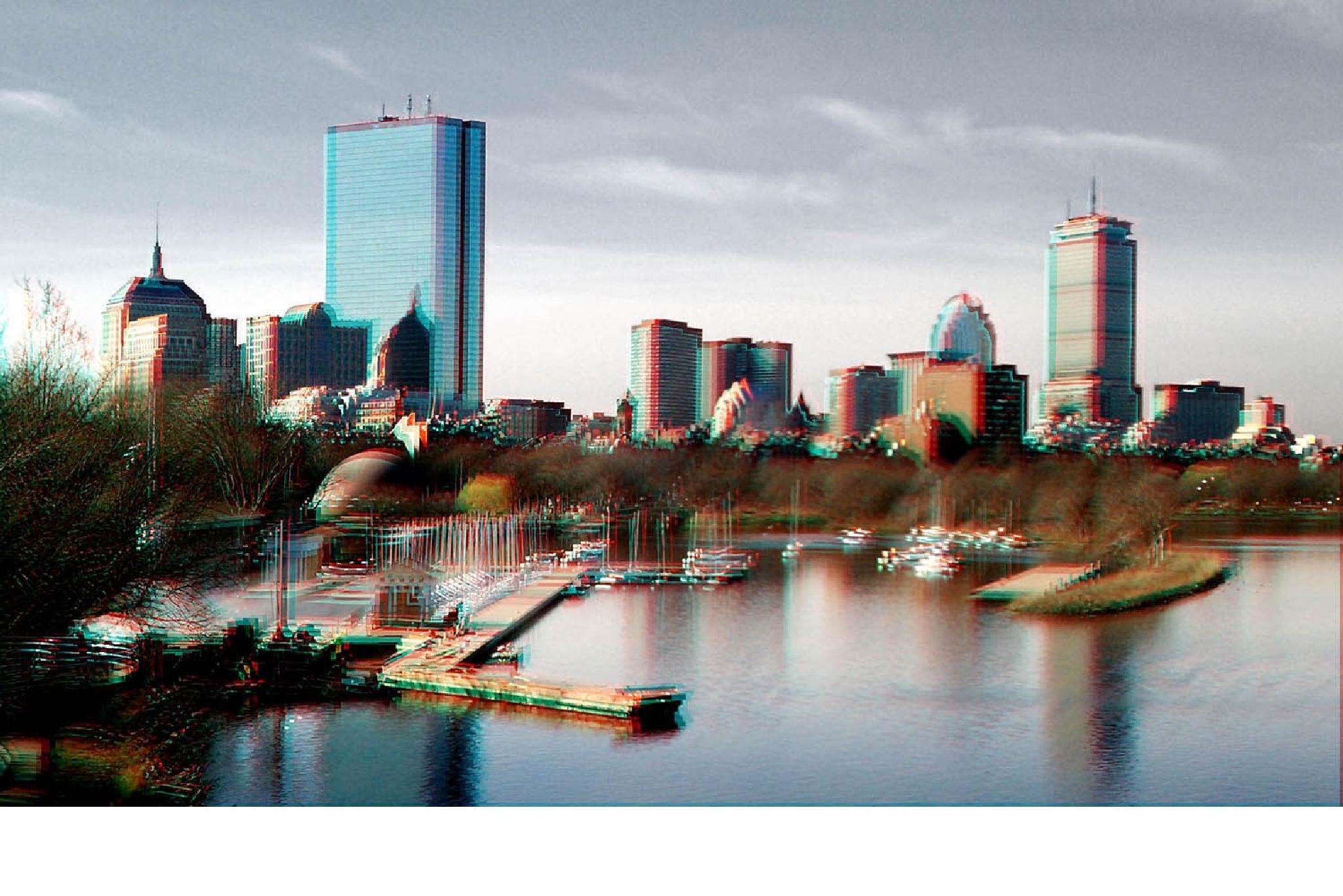 Boston Skyline by davidlstickney