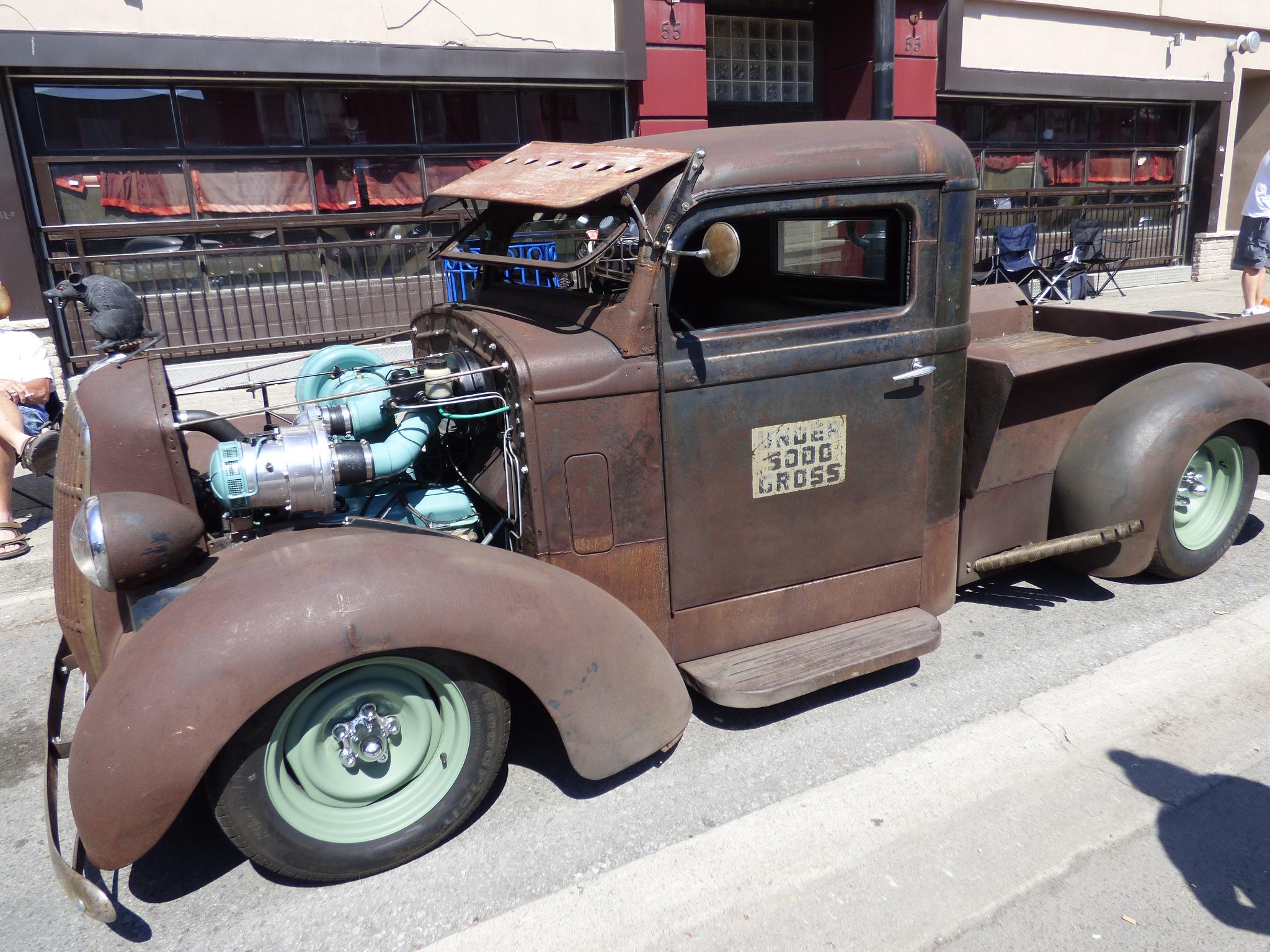 old truck by RegSoper