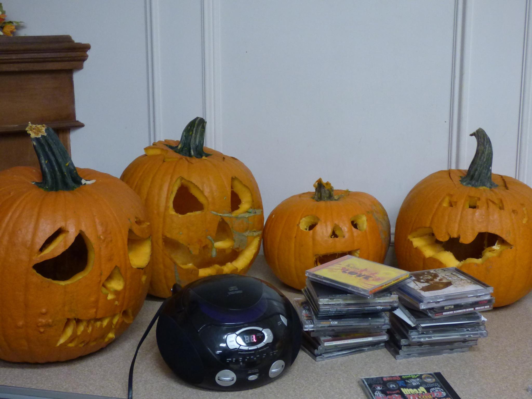 Pumpkin party by RegSoper