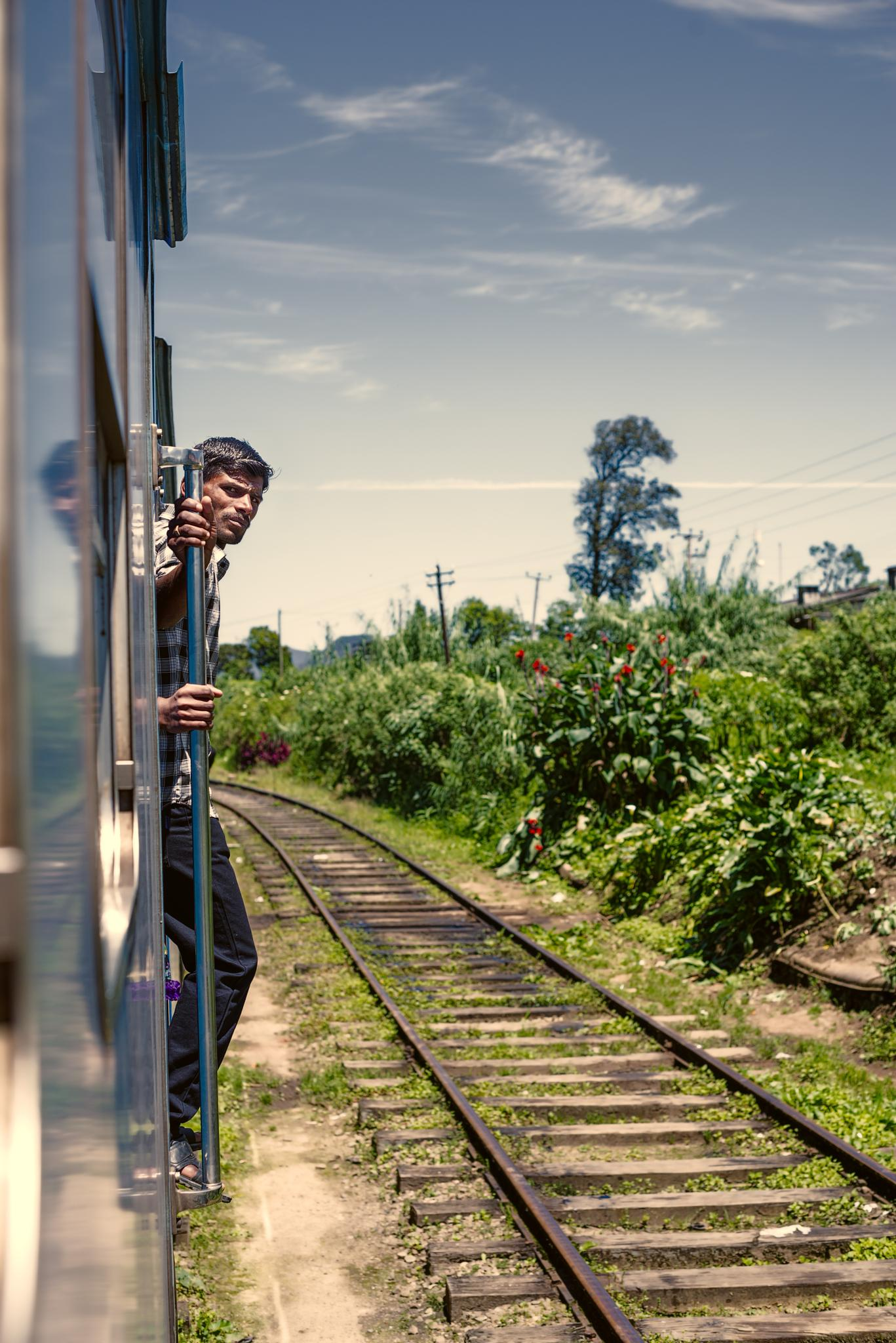 Photo in Travel #travel #train #asia #sri lanka #adrenaline #roller coaster