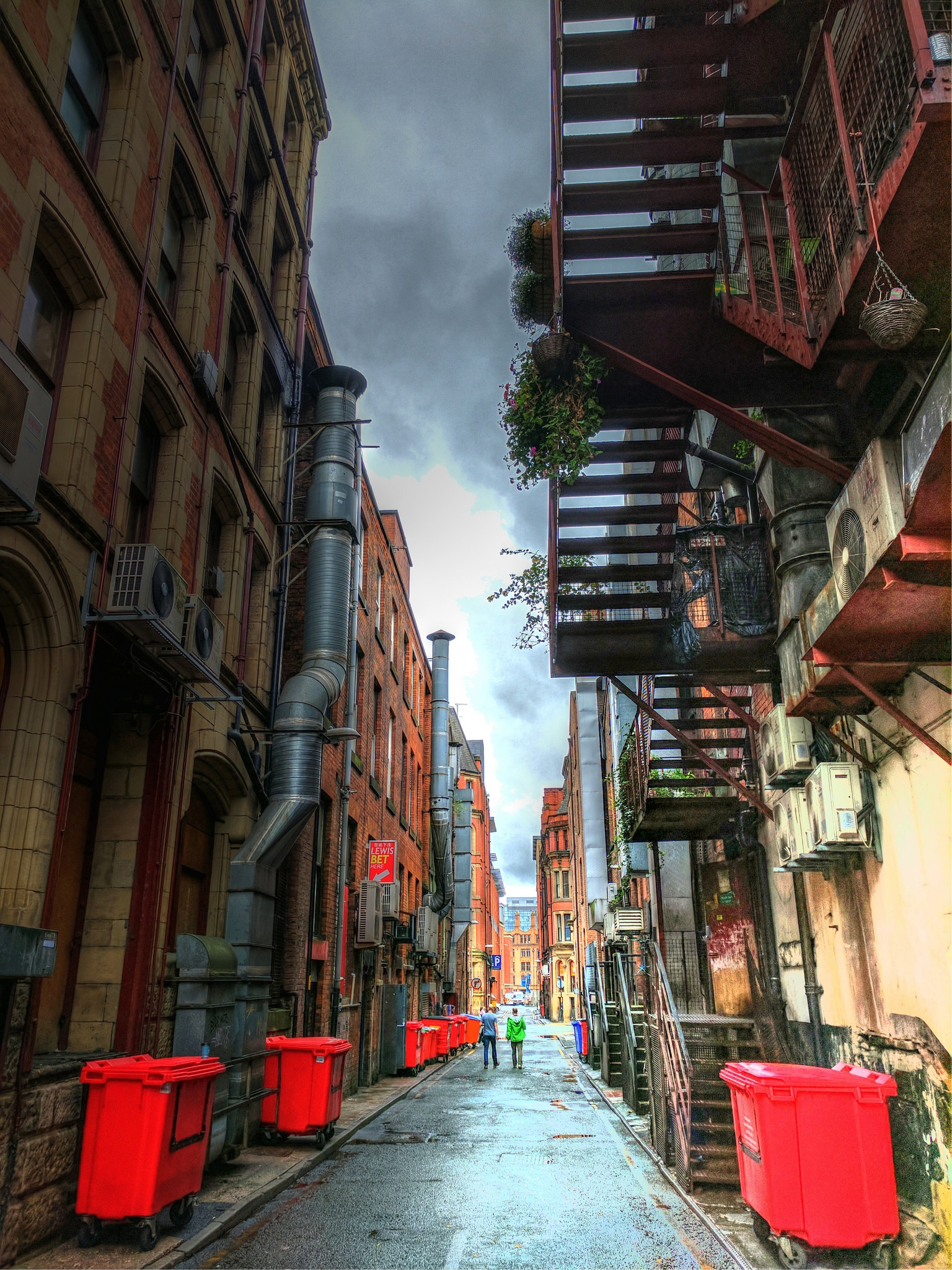 China Town backstreet. by fasteddie42