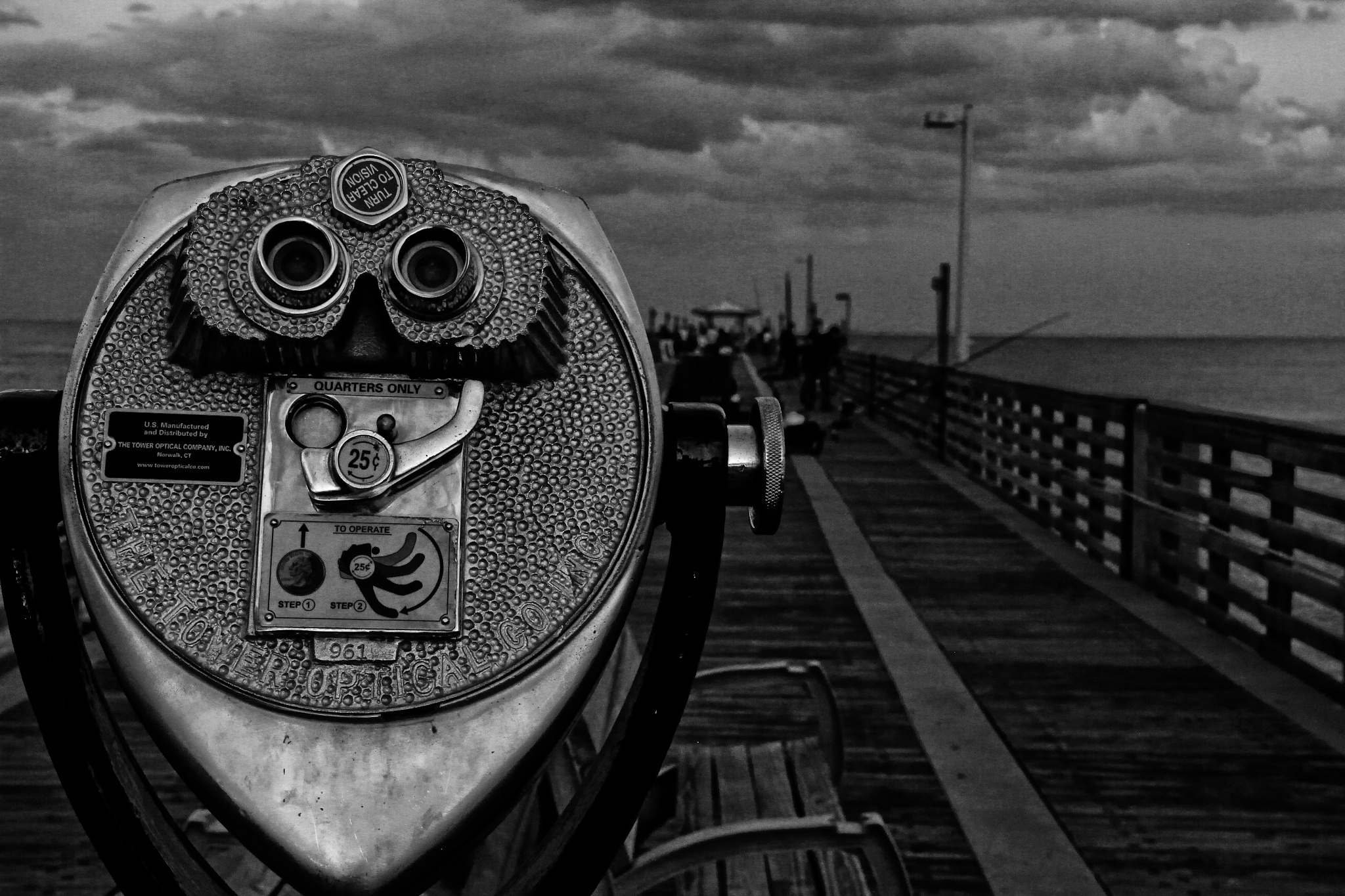 Afternoon on the Pier  by Tyzin