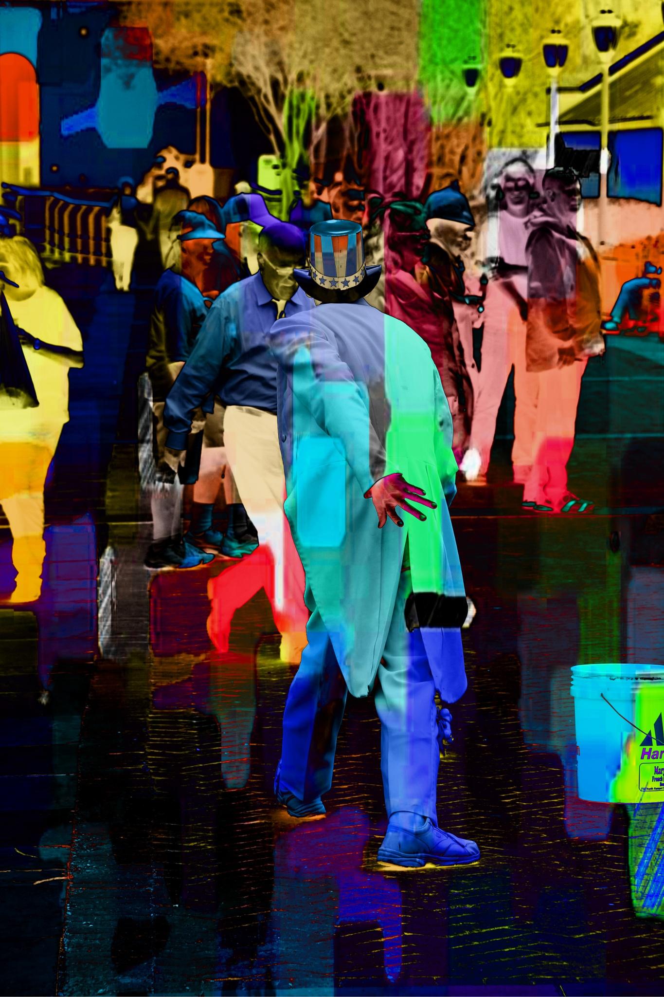 Street Performer by Tyzin