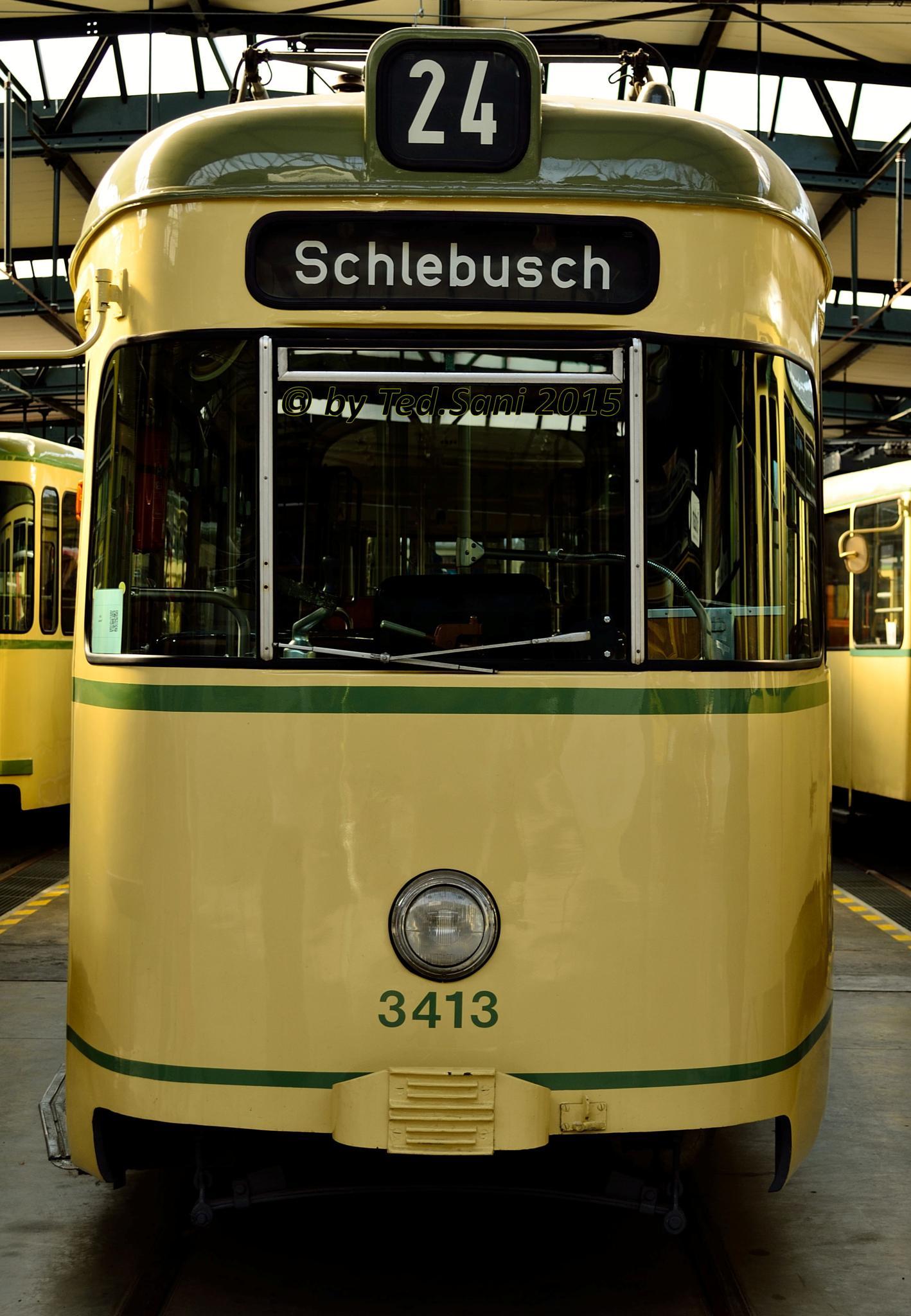 KVB Strassenbahn Museum by MKalker/TedSani