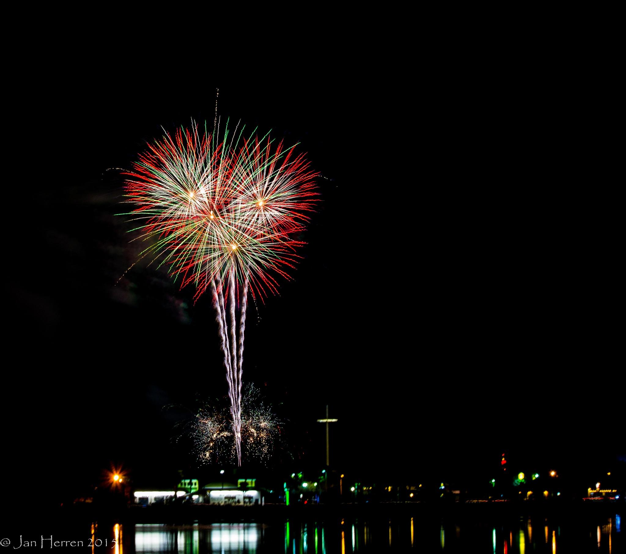 Fireworks 1 by Jan Herren
