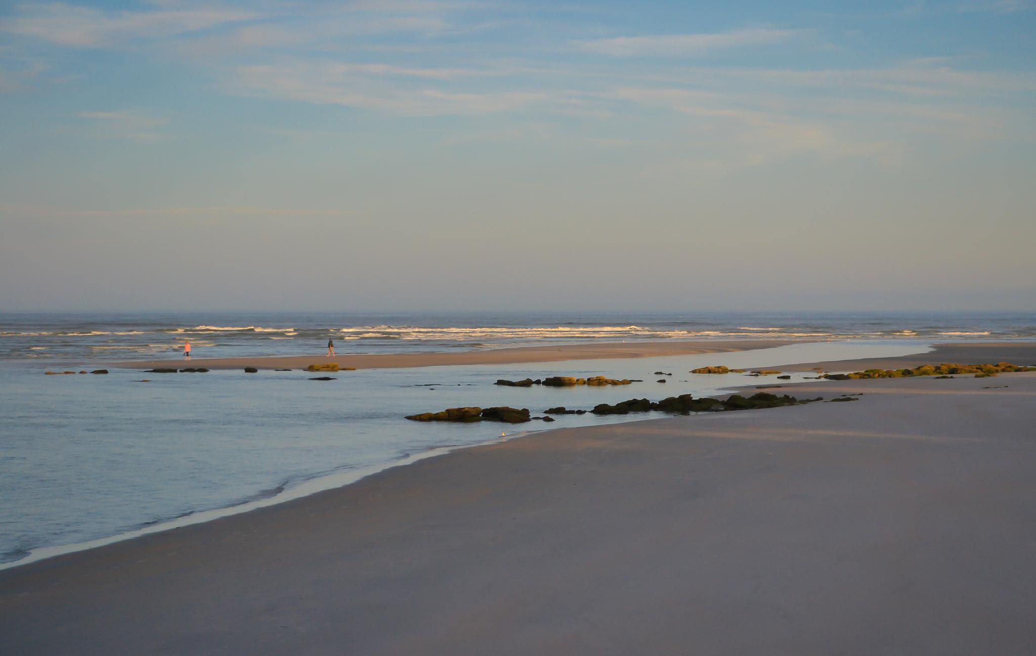Beach at Dusk by Jan Herren