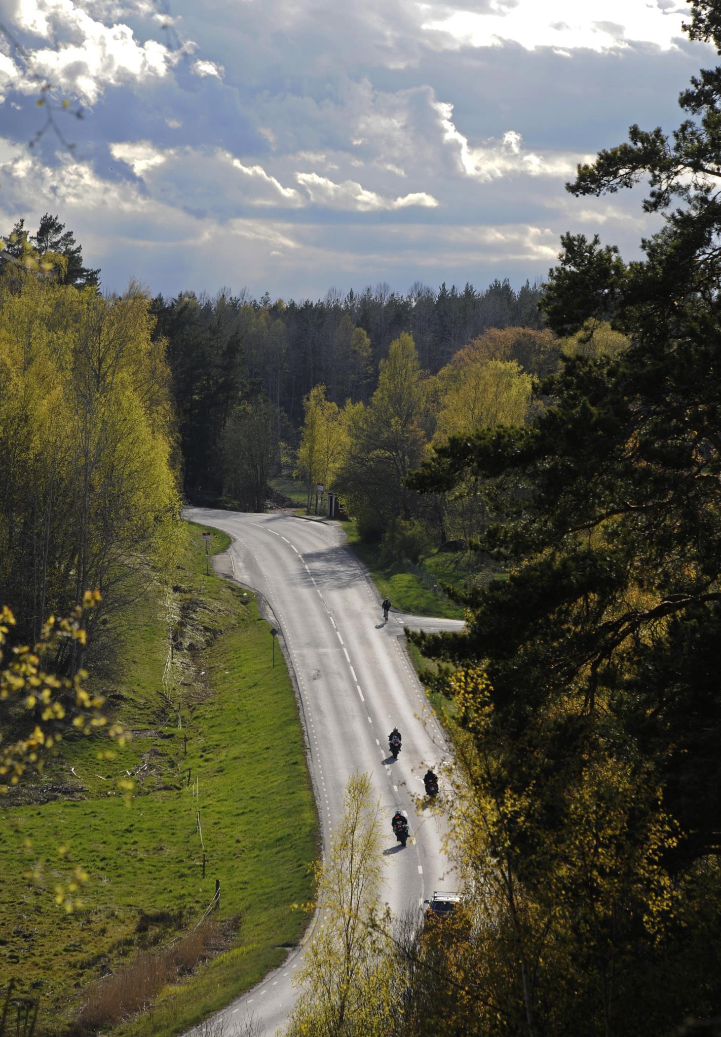 Photo in Landscape #riders #mc #värmdö #spring