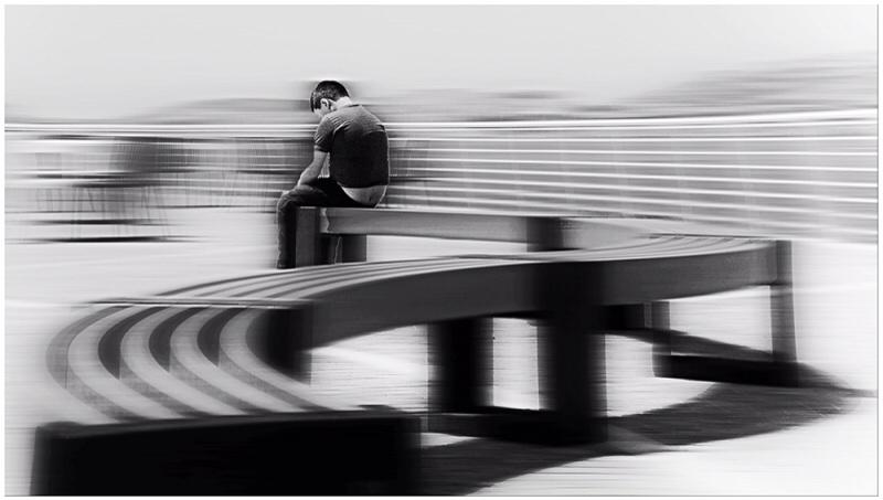 Solitary boy  by federico.parra.75