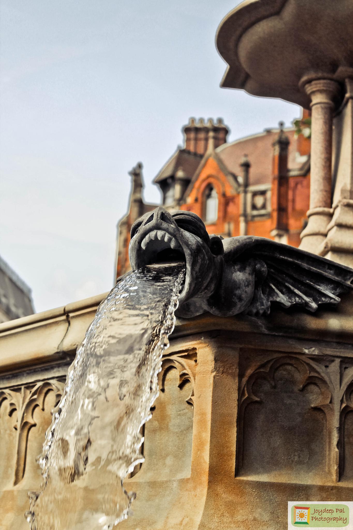 Fountain by Joydeep Pal