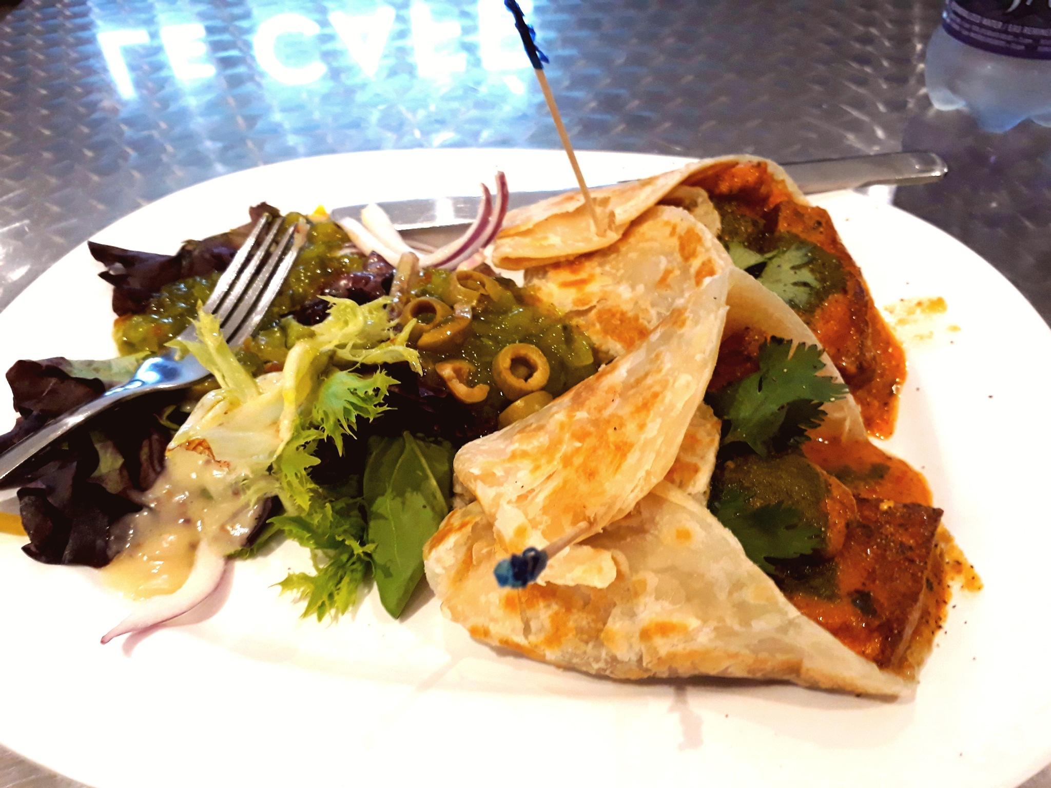 Paneer Kebab Wrap by Joydeep Pal