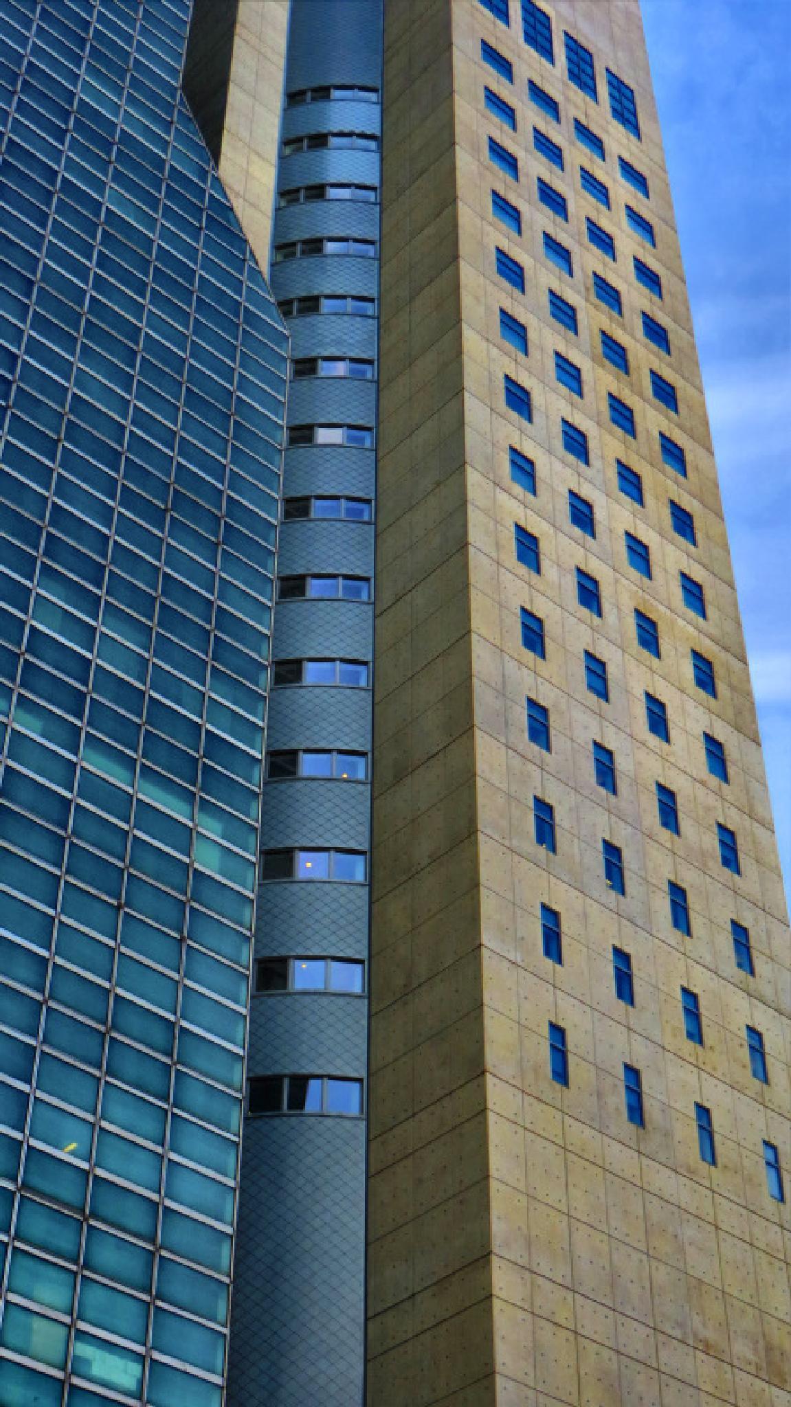 New York architecture by jezevec40