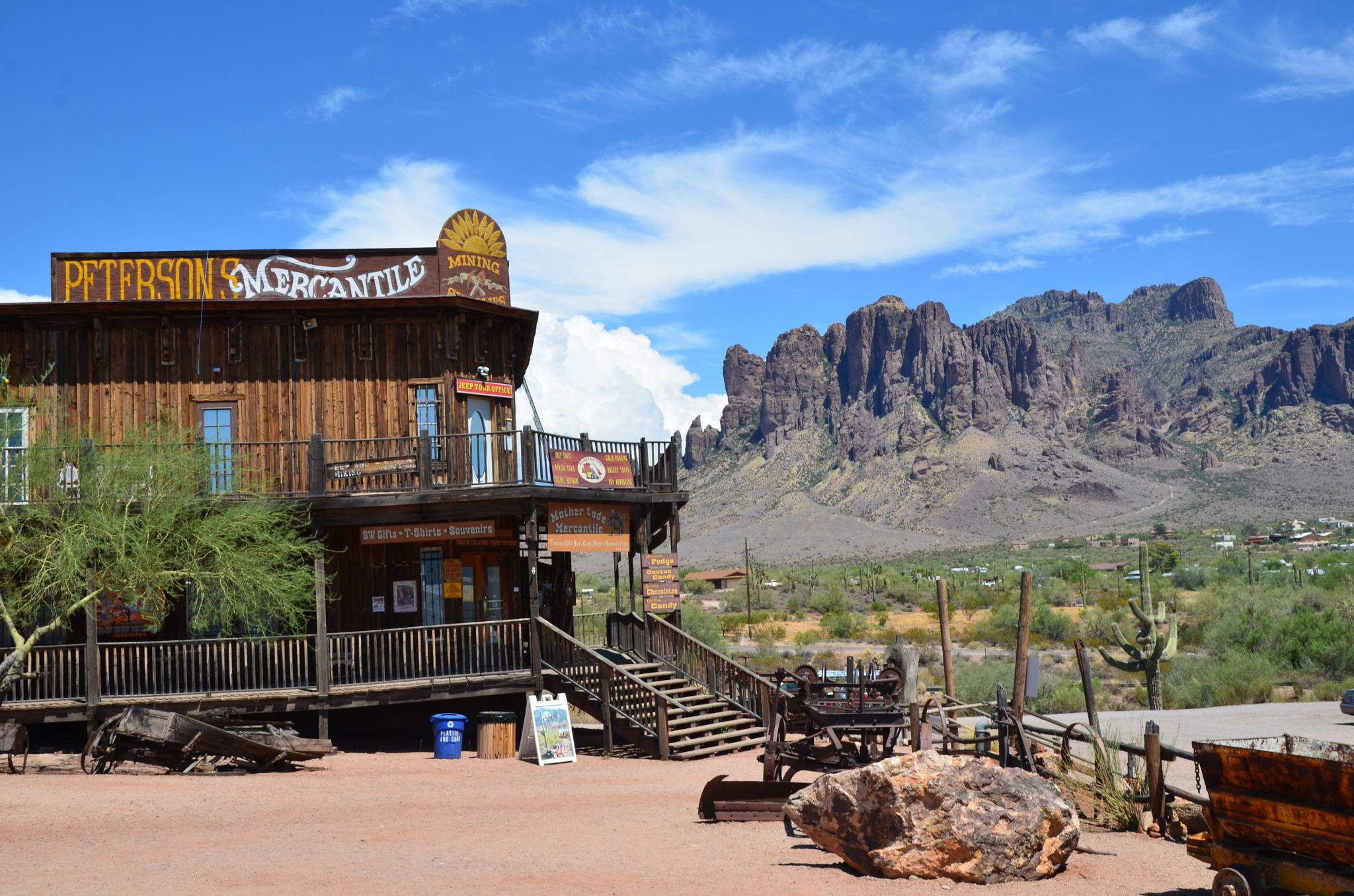 Ghost Town in Apache Junction, AZ by djy