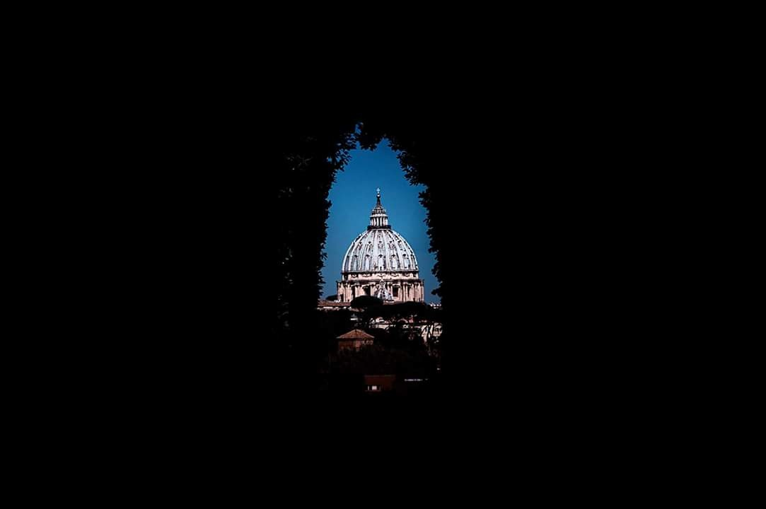San Pietro from the hole of the lock prize Malta knights   by sandra.cimino.1