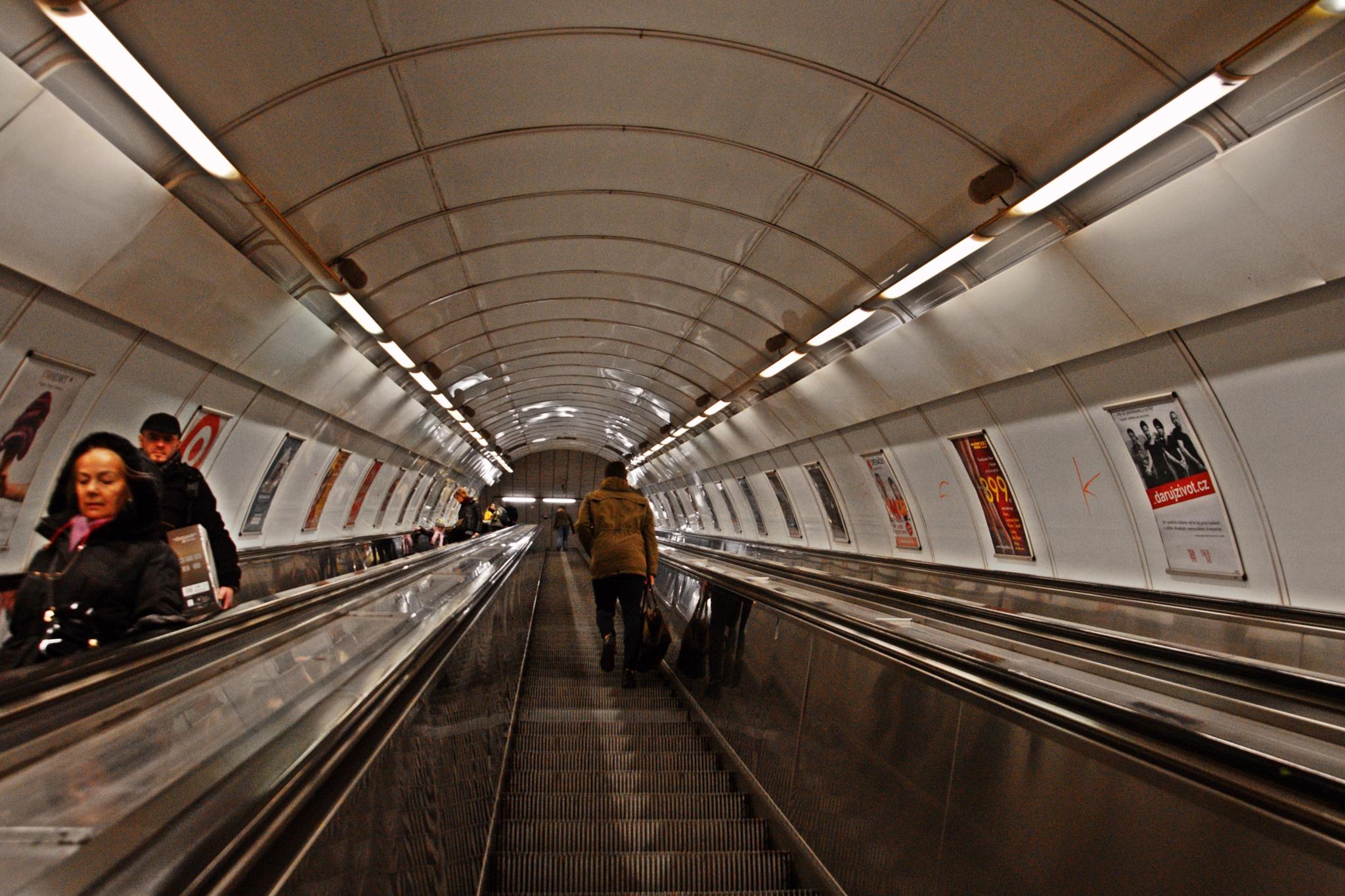 Subway in Prague by sandra.cimino.1
