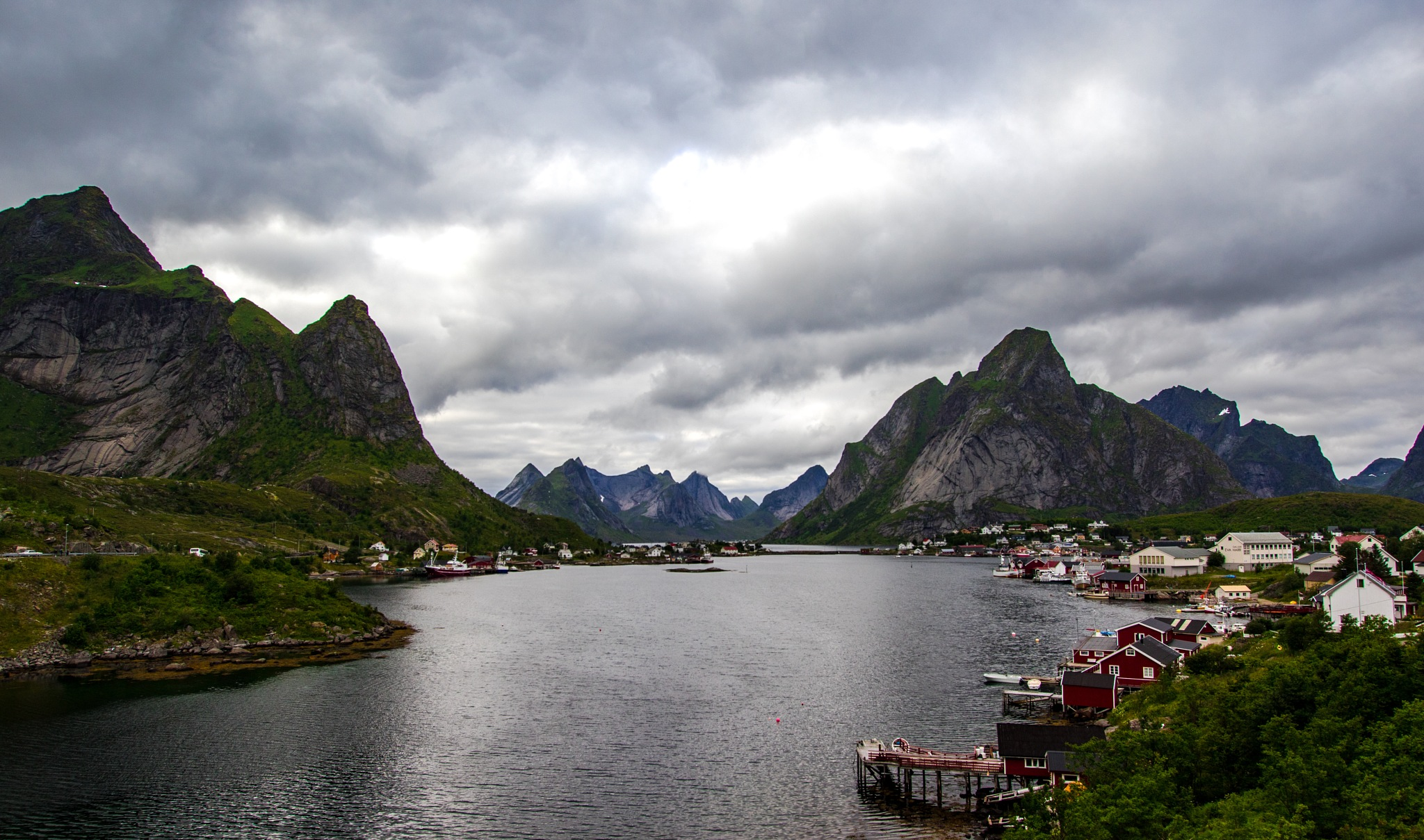 Reine, Lofoten by Linda Myrberg