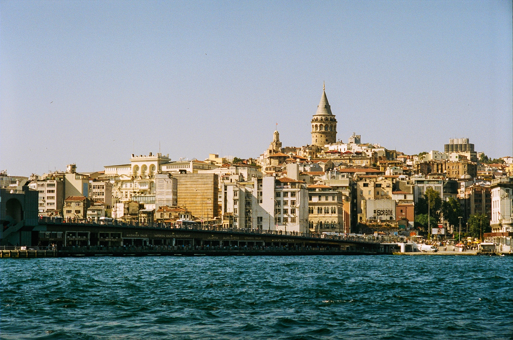 Bosphorus on film by Kutay Photography