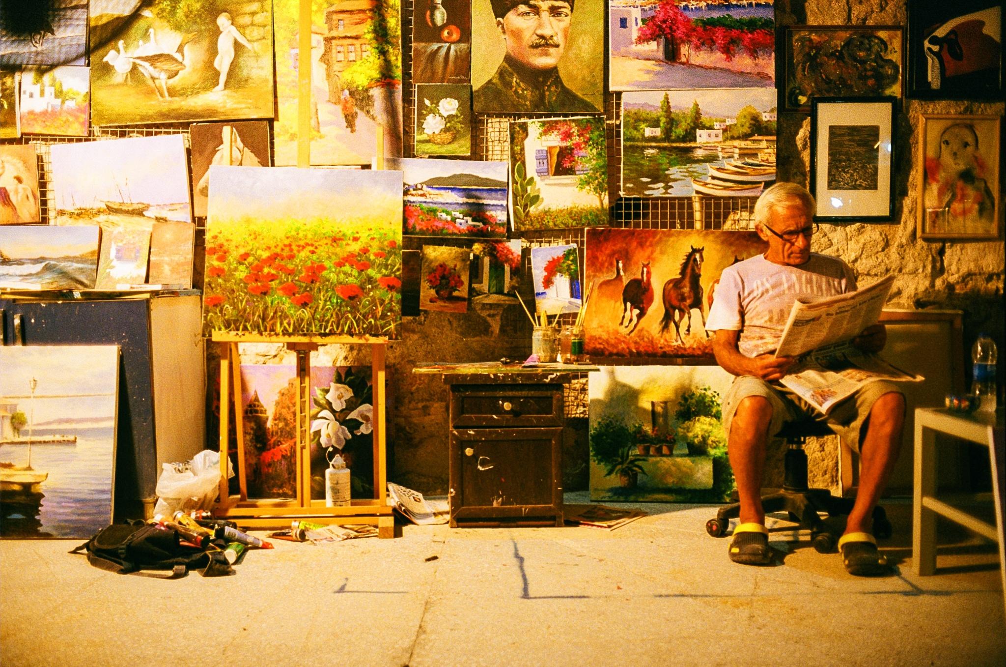 Art market by Kutay Photography