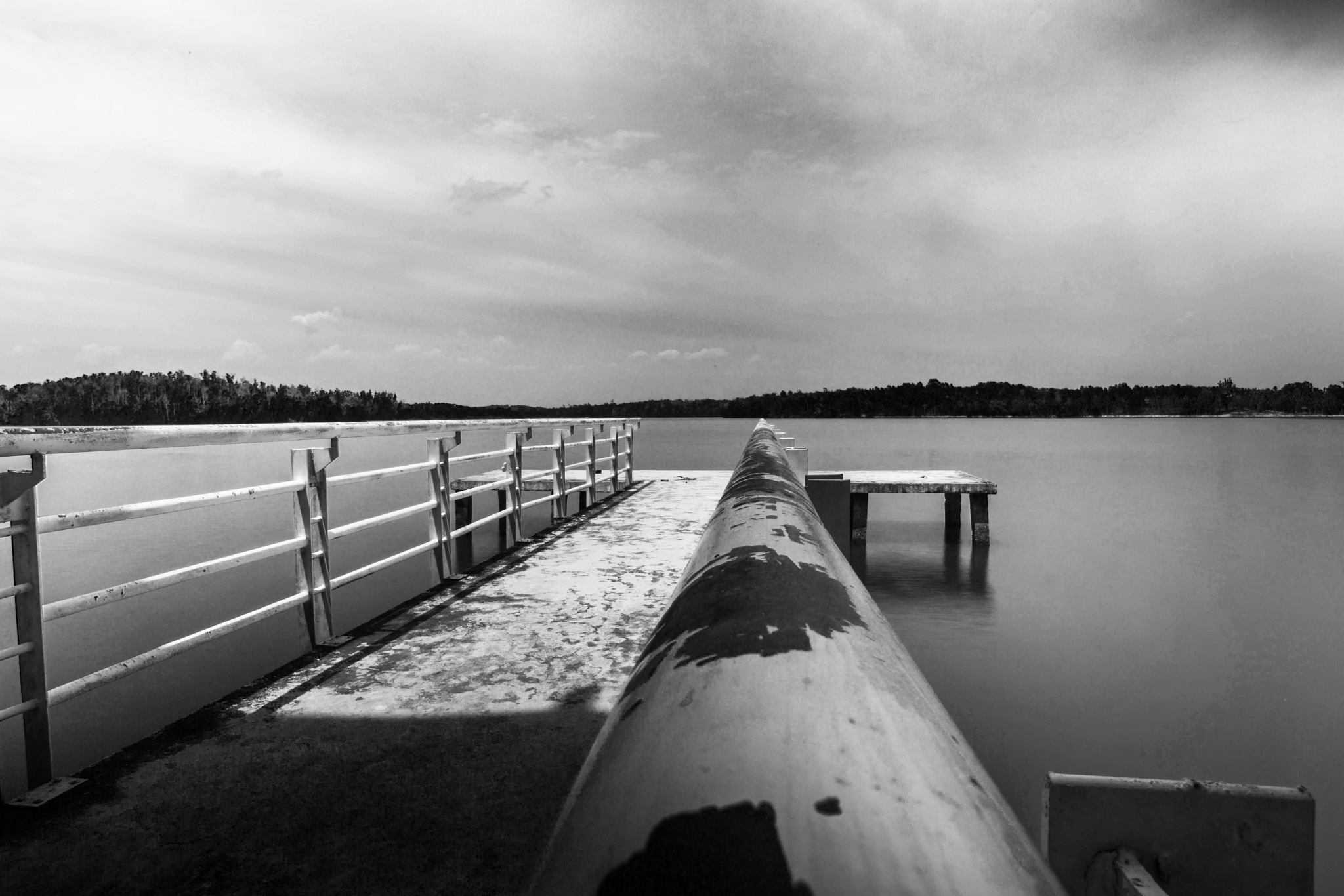 Limbungan Lake B&W by Syafri Gamal