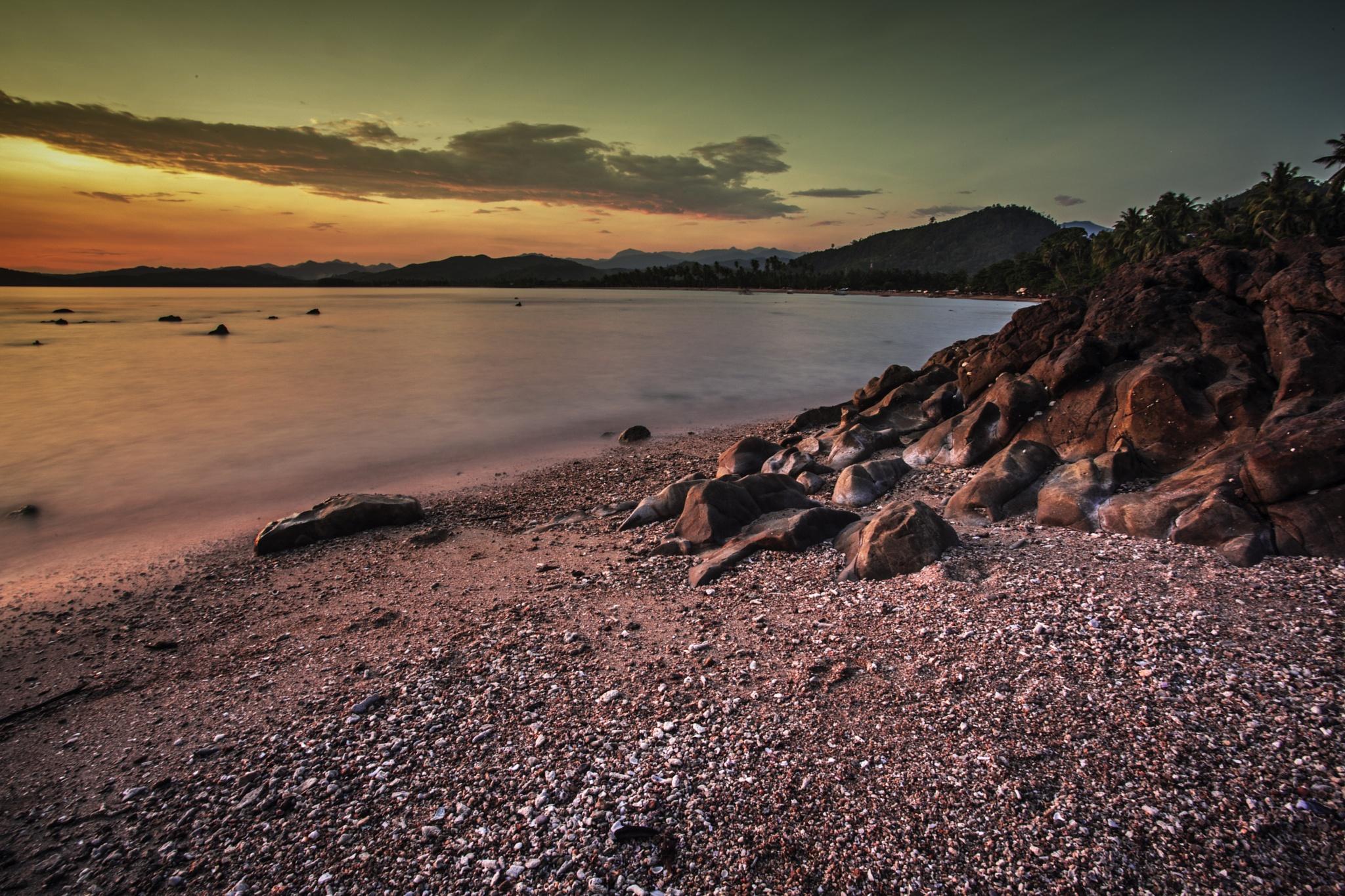 karang pantai by Syafri Gamal