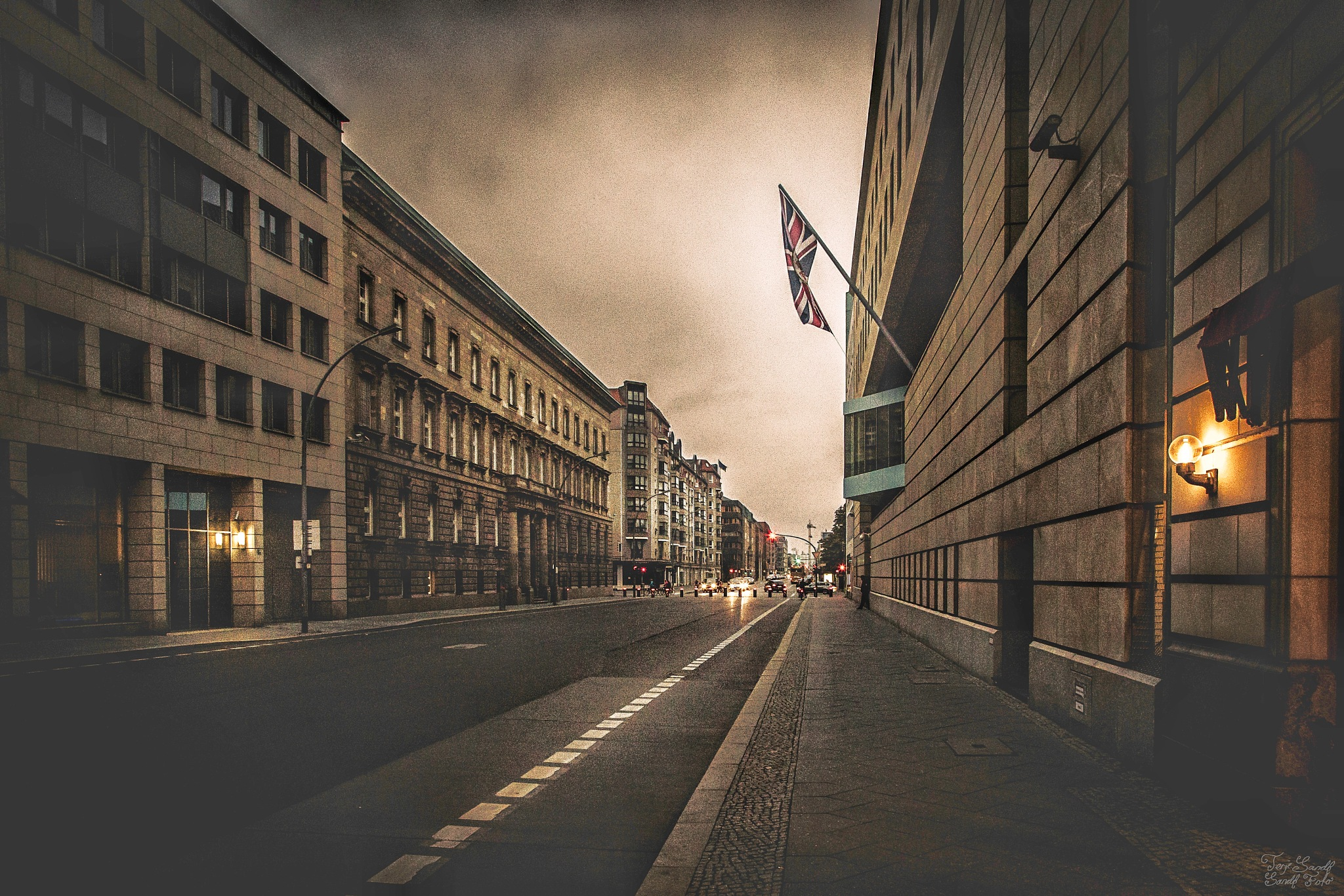 UK Embassy, Berlin  by tjsandofoto