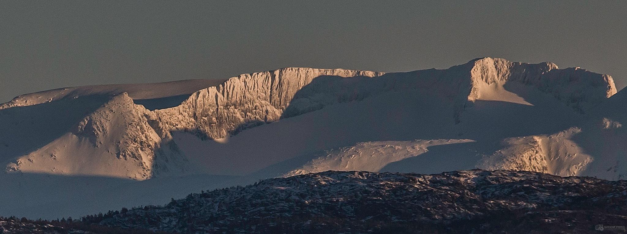 Folgefonna Glacier by tjsandofoto