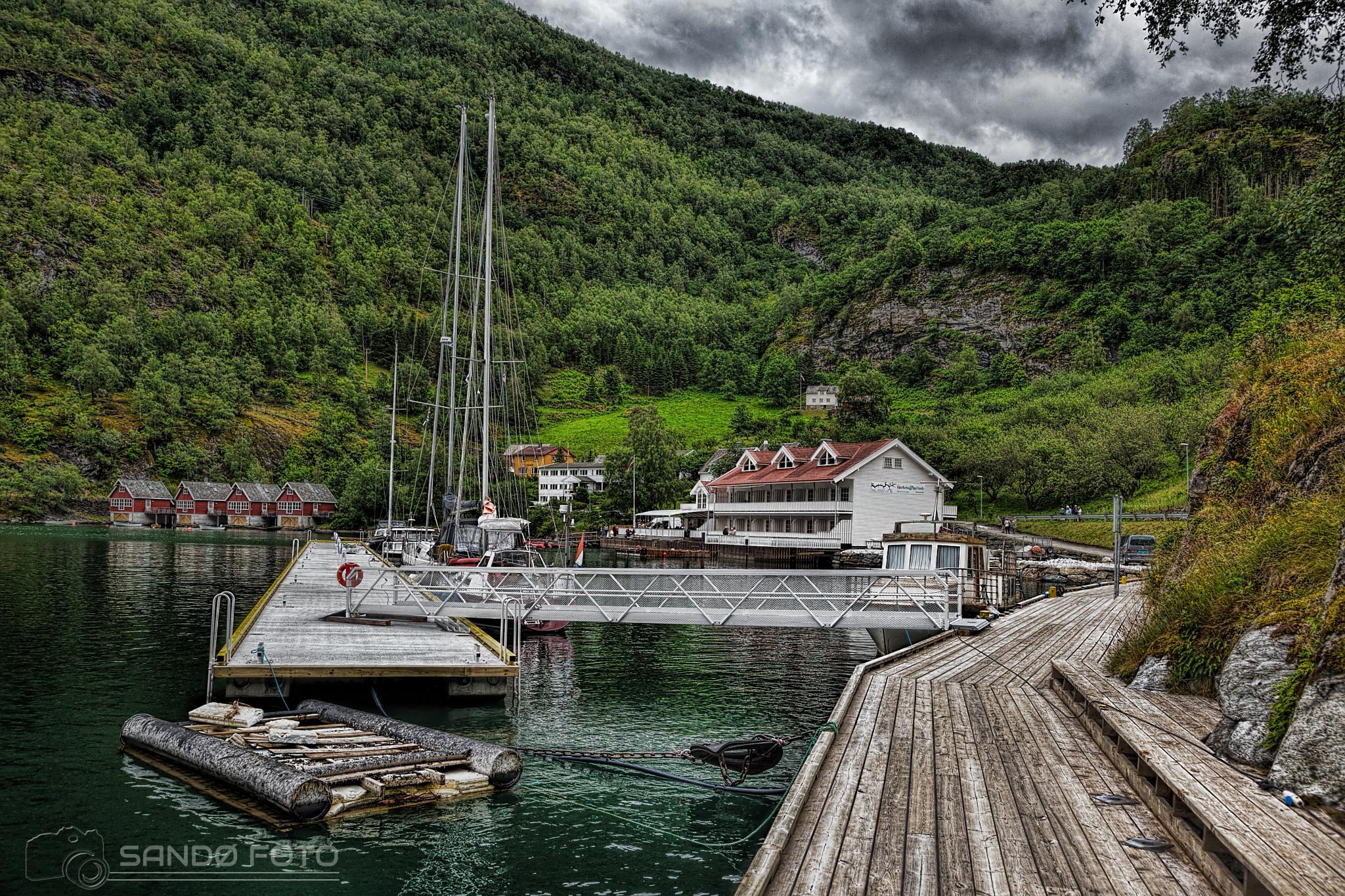 Flåm, Norway by tjsandofoto